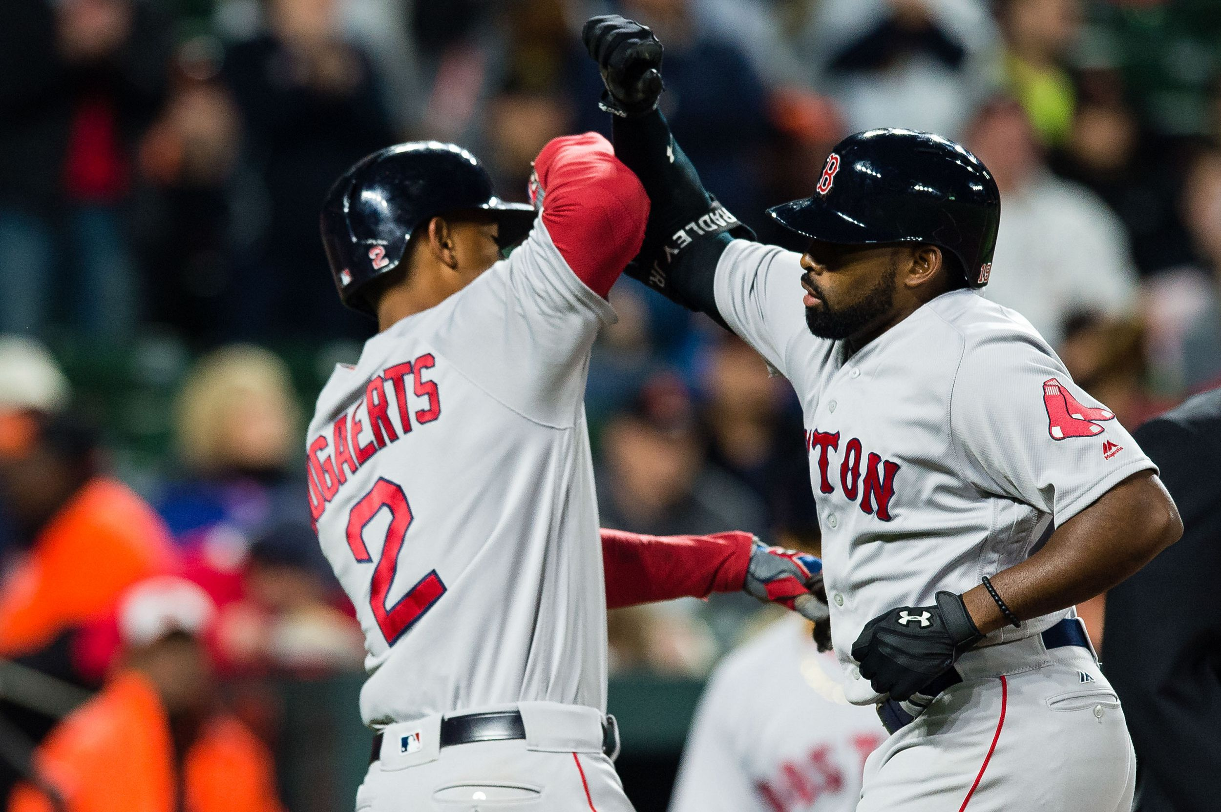 MLB: Boston Red Sox At Baltimore Orioles