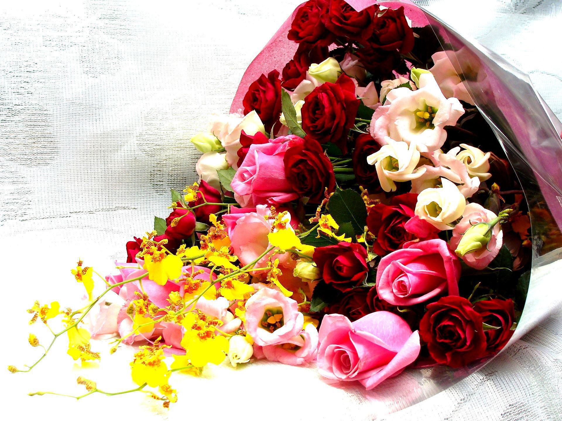 Bouquet Of Flowers High Quality Wallpapers