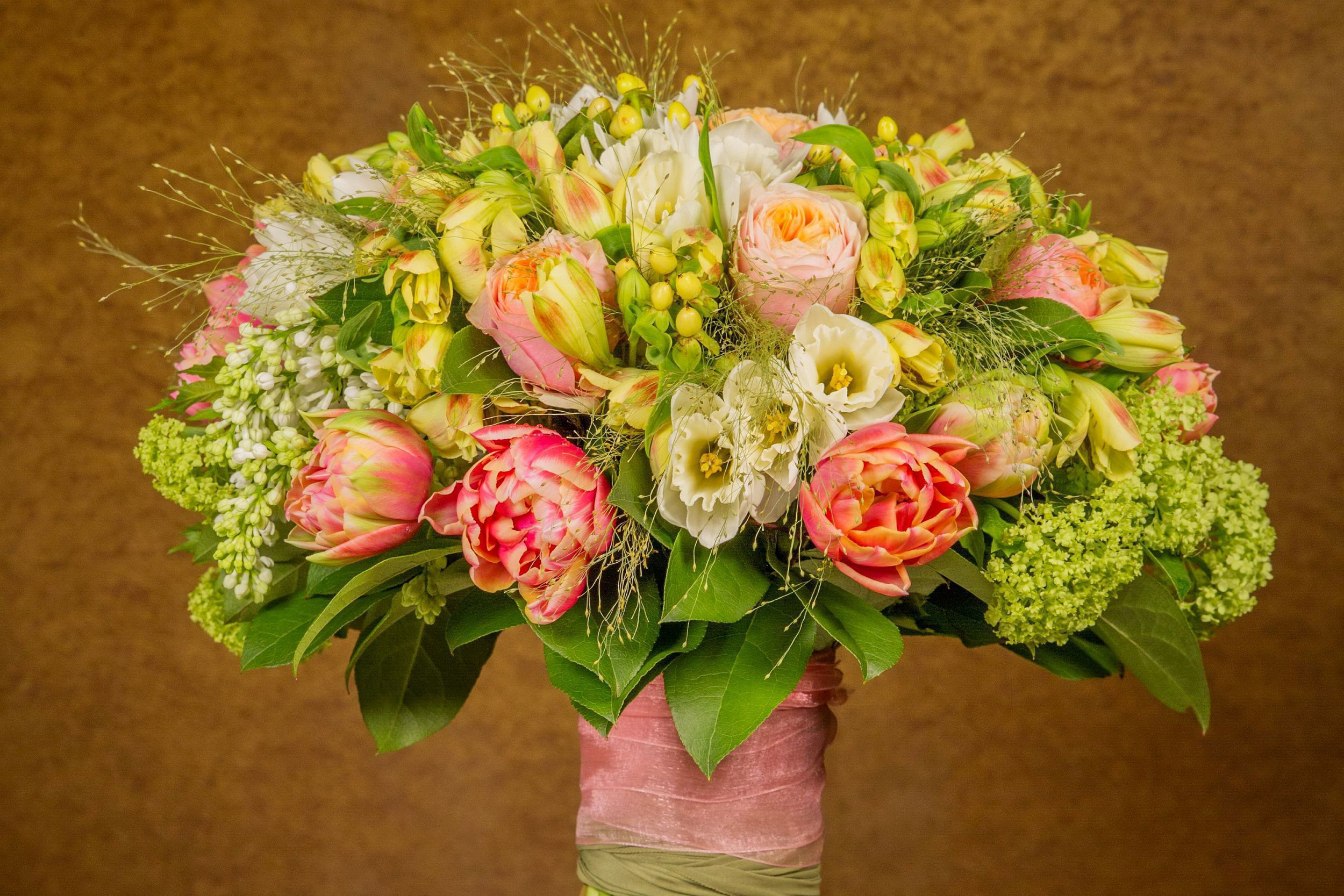 Bouquet Of Flowers In High Resolution