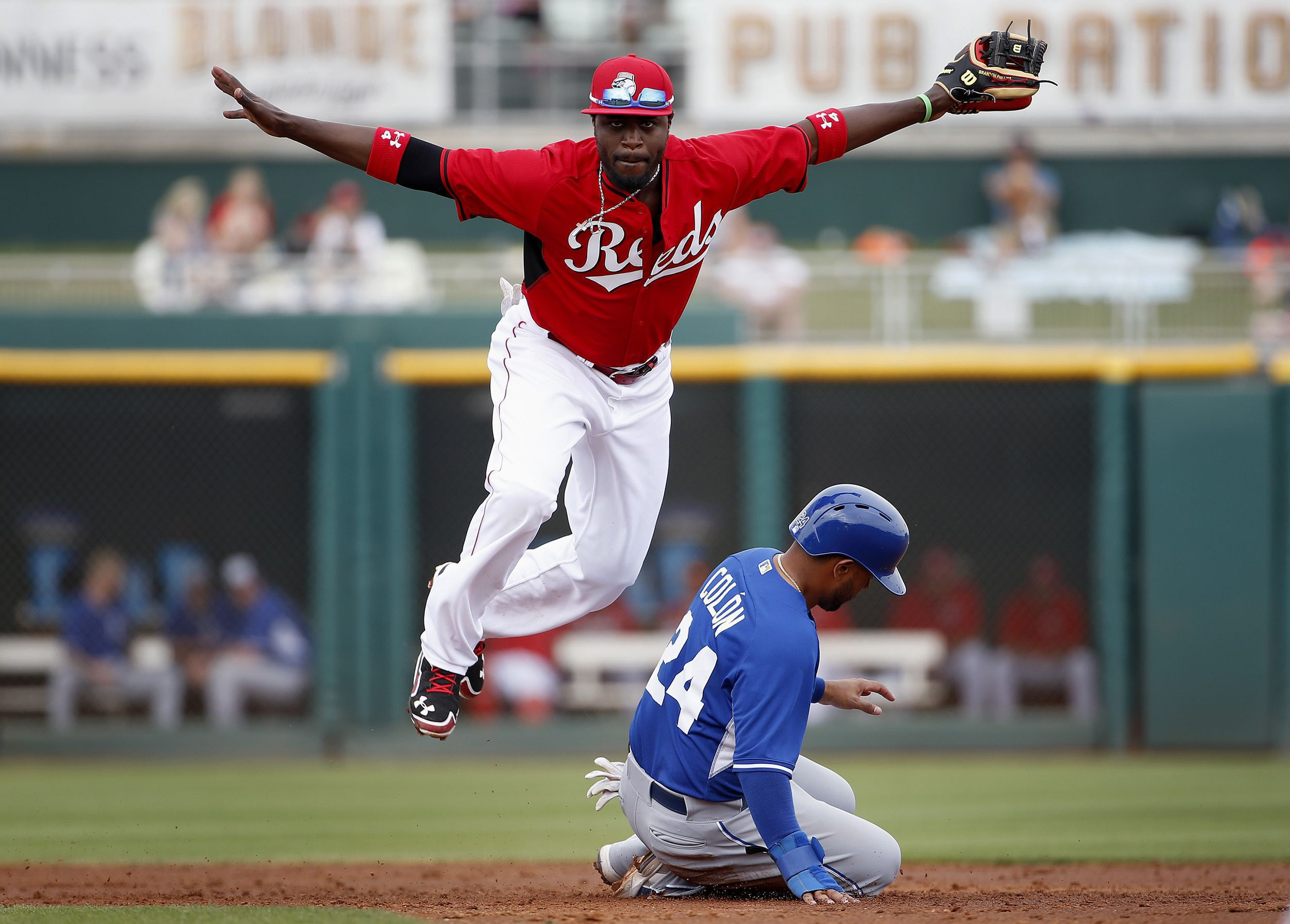 Brandon Phillips, Christian Colon