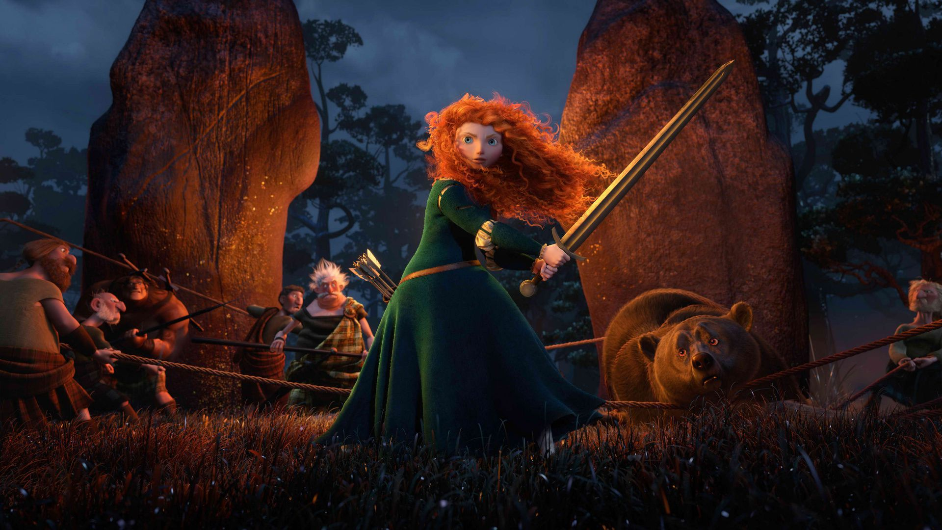 Brave HD Background