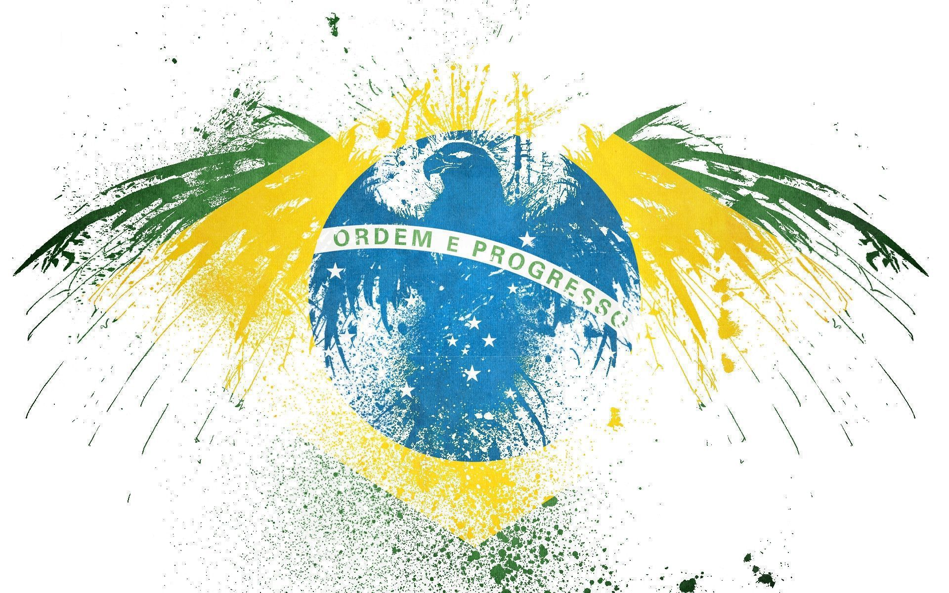 Brazil Flag Computer Wallpaper