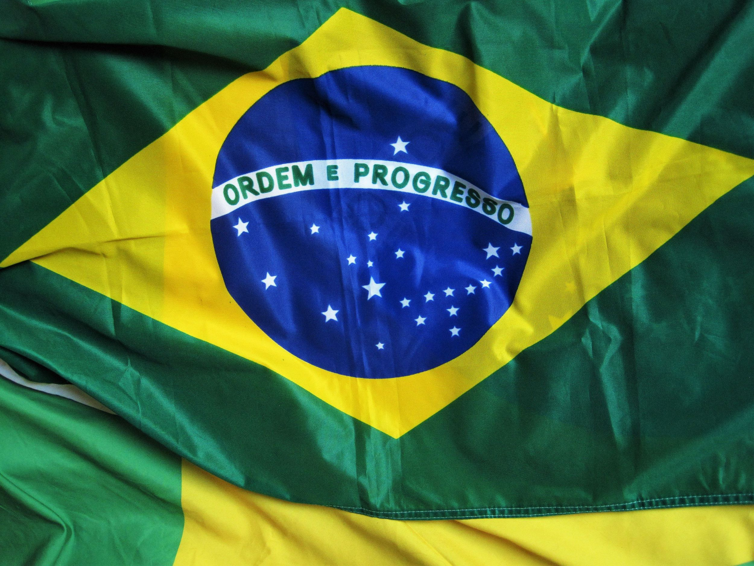Brazil Flag HD Wallpaper