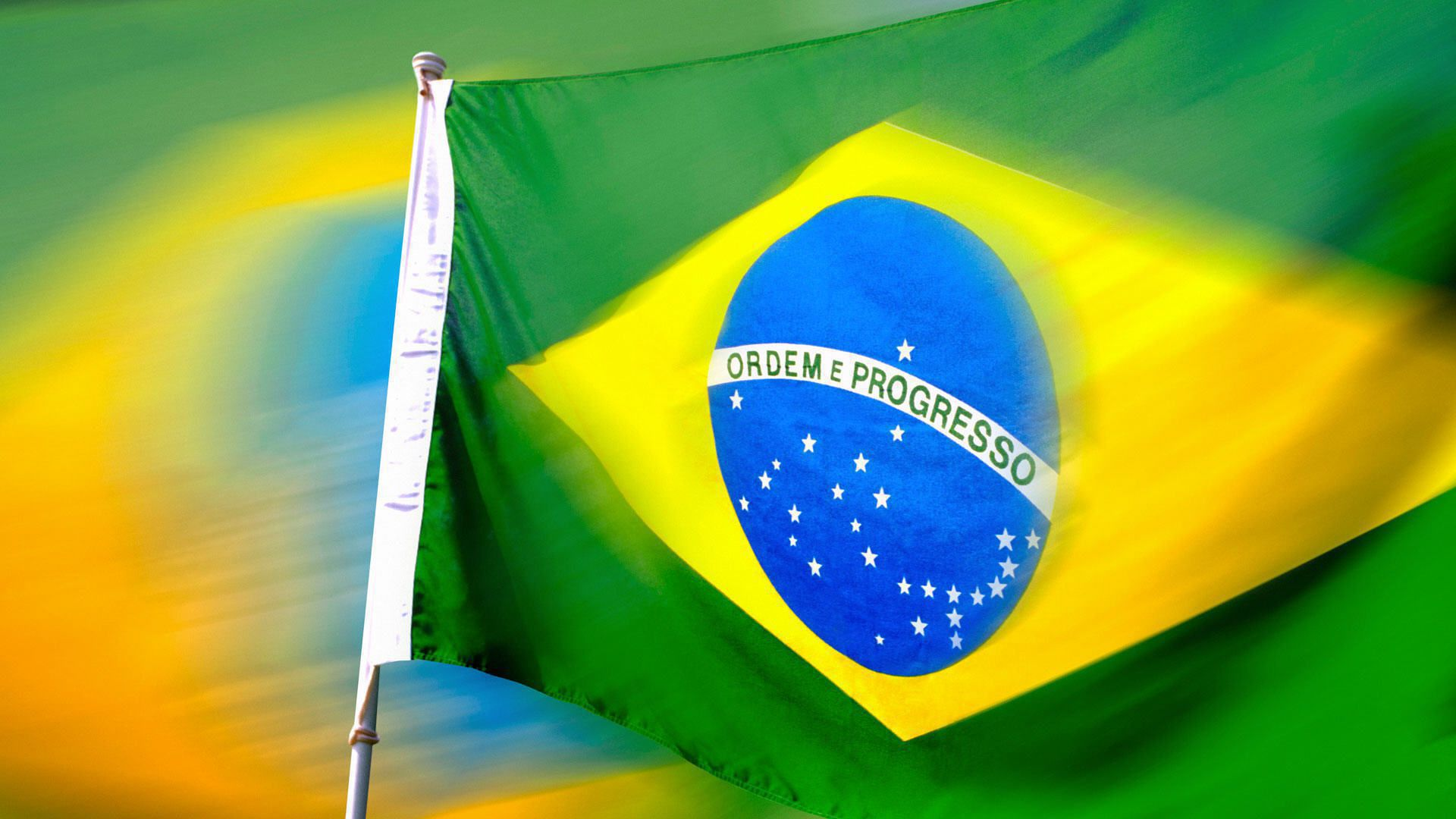 Brazil Flag Widescreen