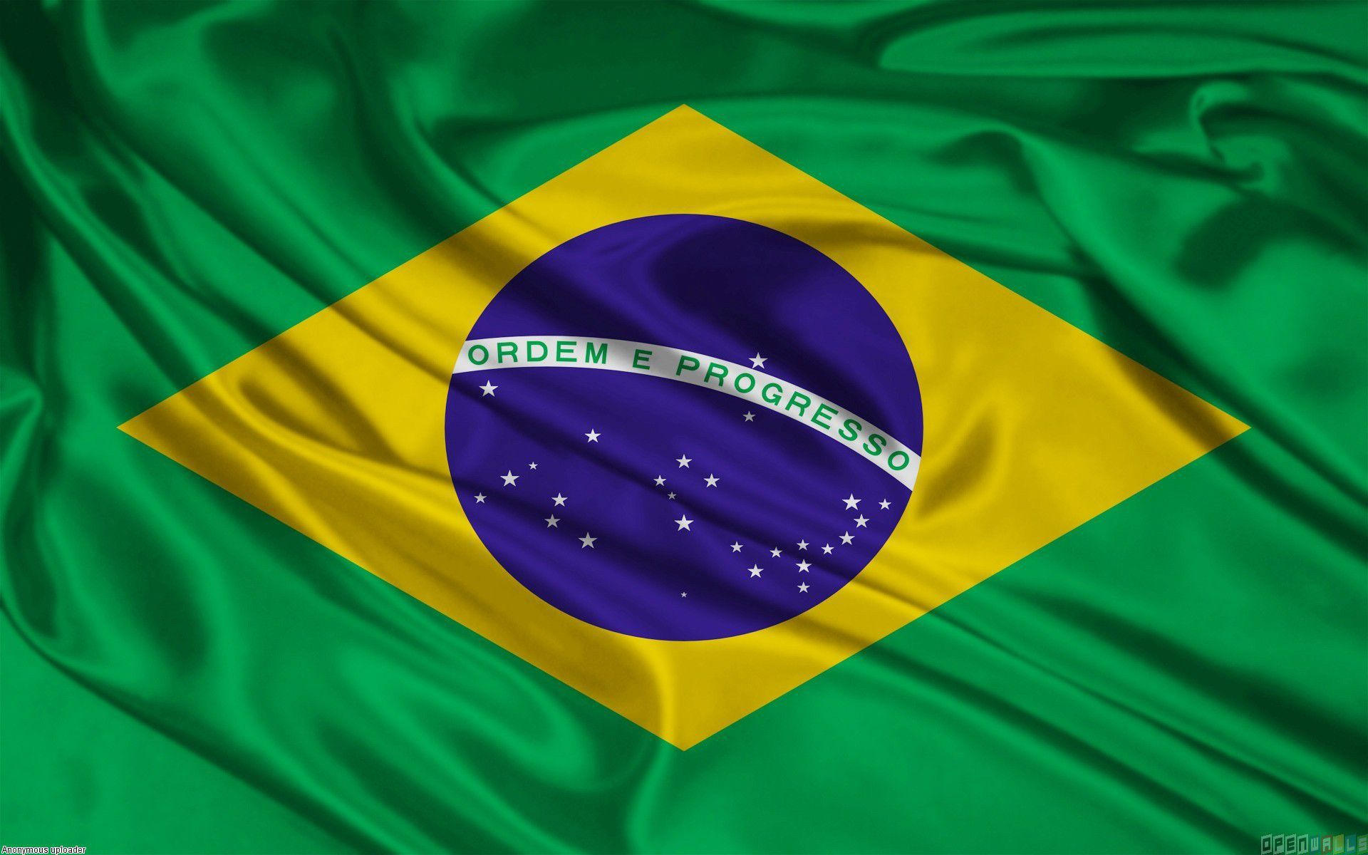 Brazil Flag In High Resolution