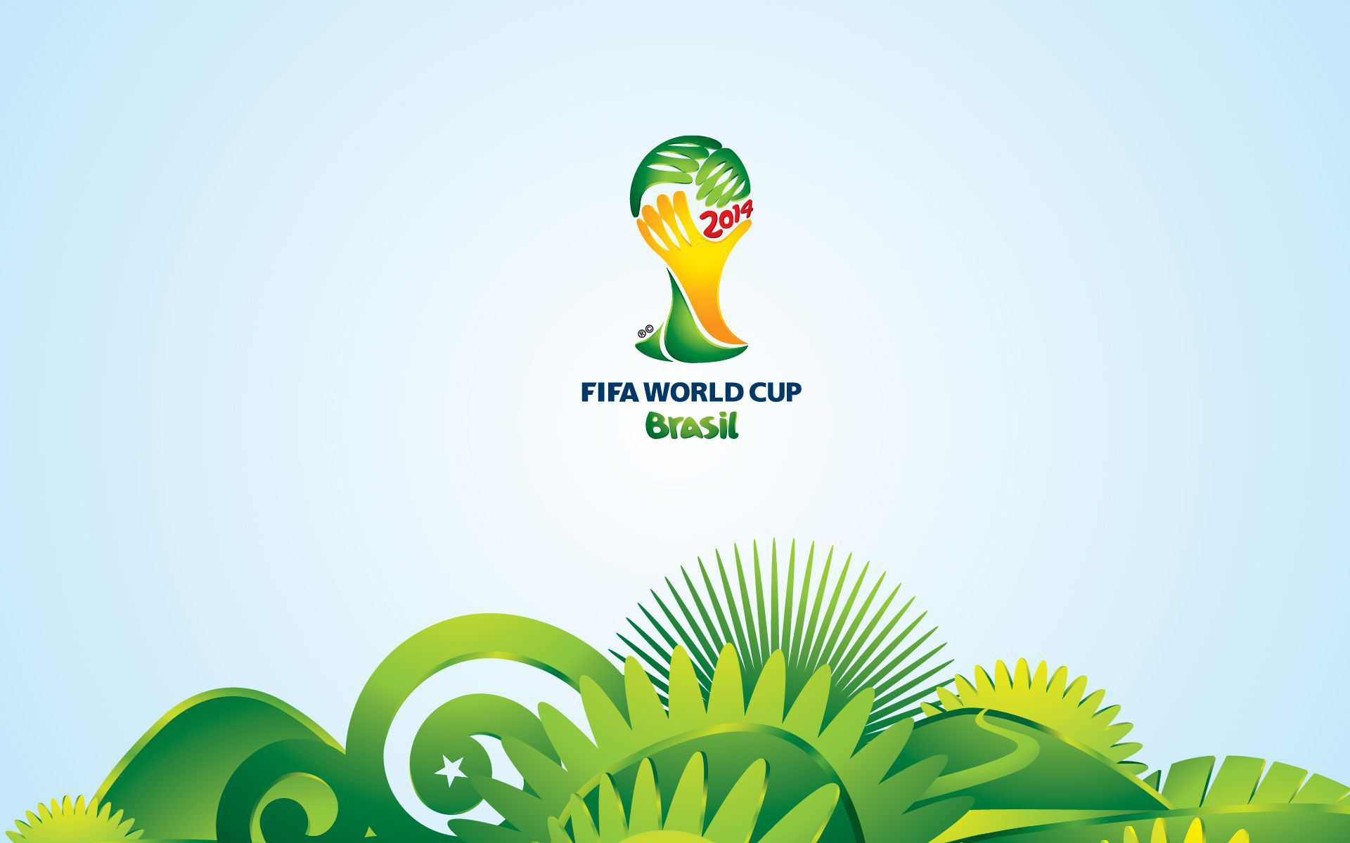 Brazil World Cup 2014 Computer Wallpaper