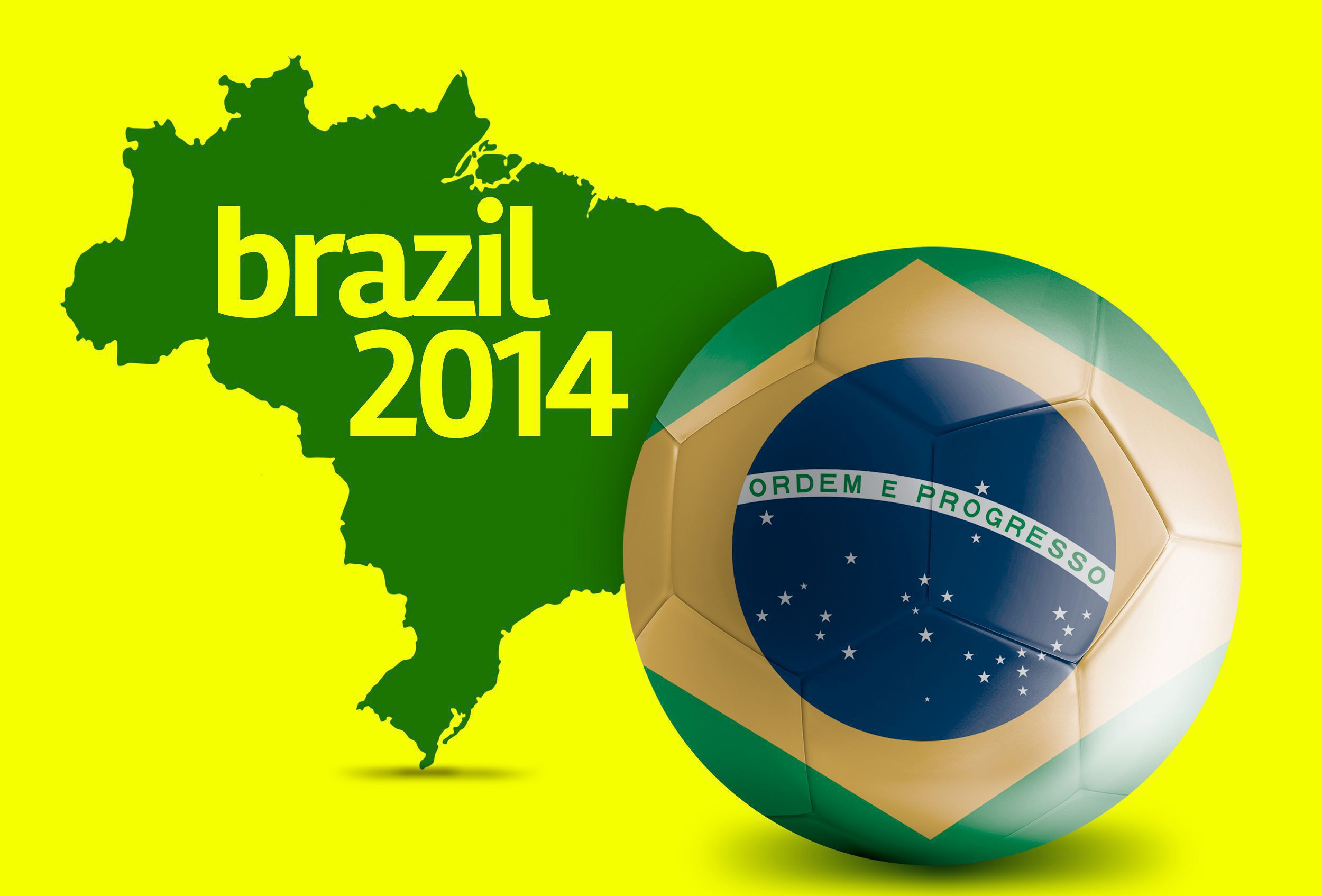 Brazil World Cup 2014 HD Background