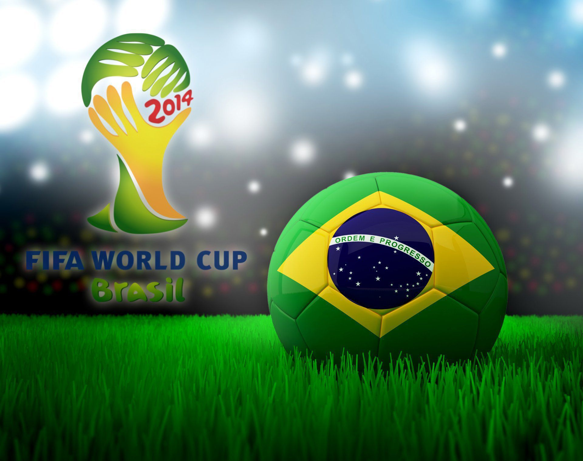 Brazil World Cup 2014 Wallpaper Pack