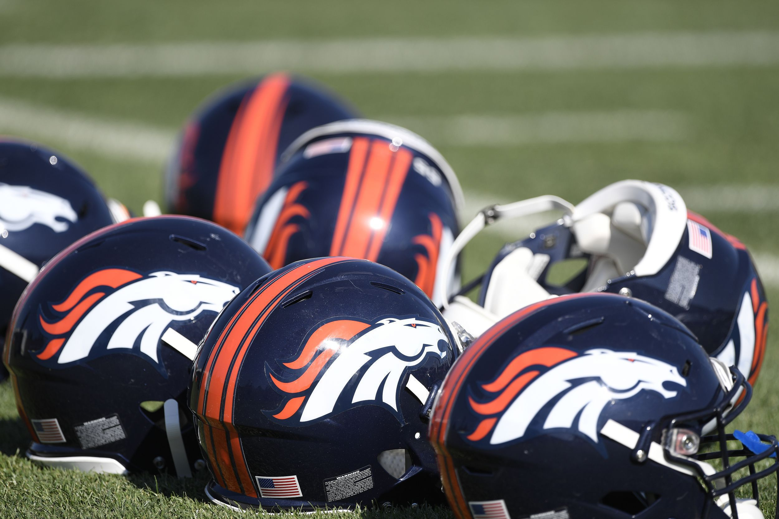 Denver Broncos Training Camp At UCHealth Training Facility At Dove Valley