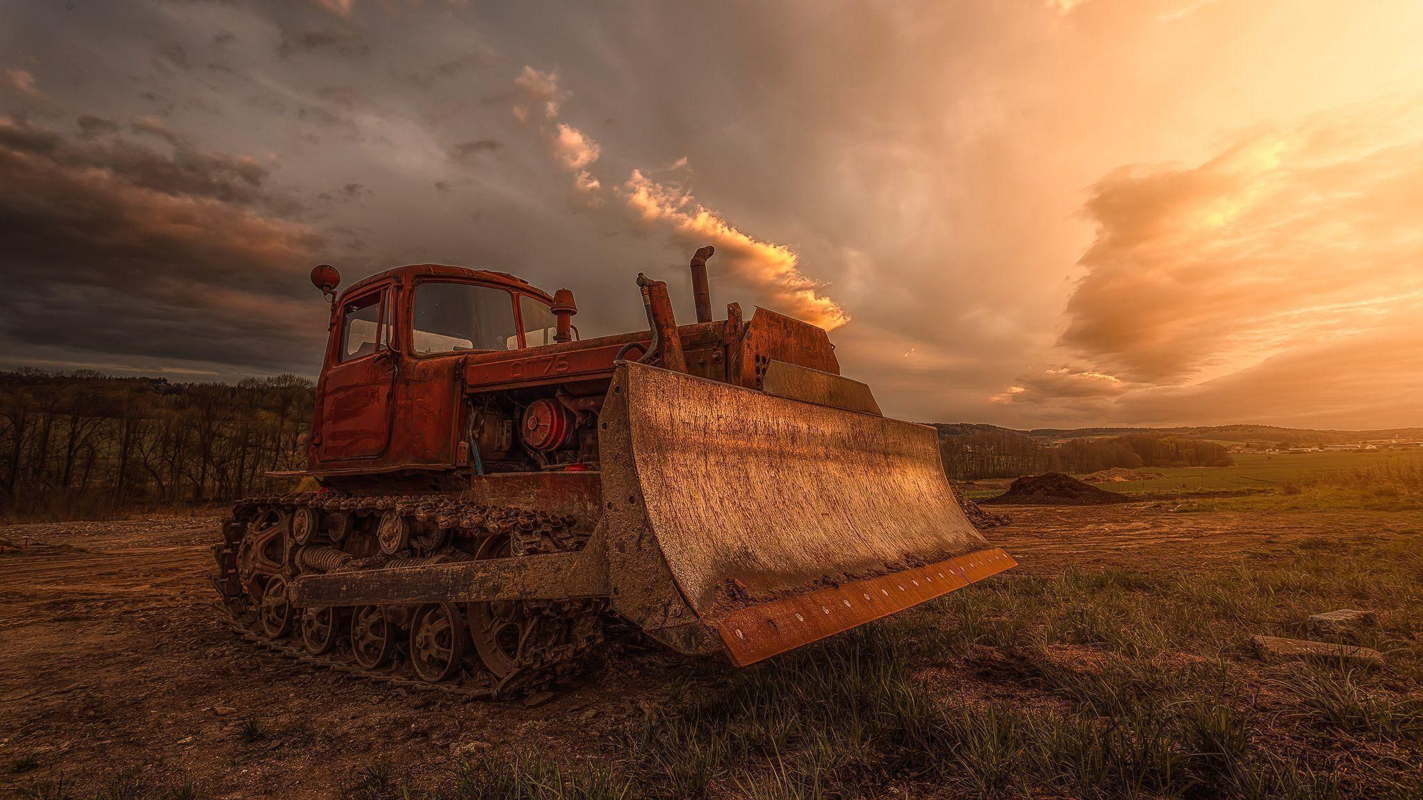 Bulldozer HD Wallpaper