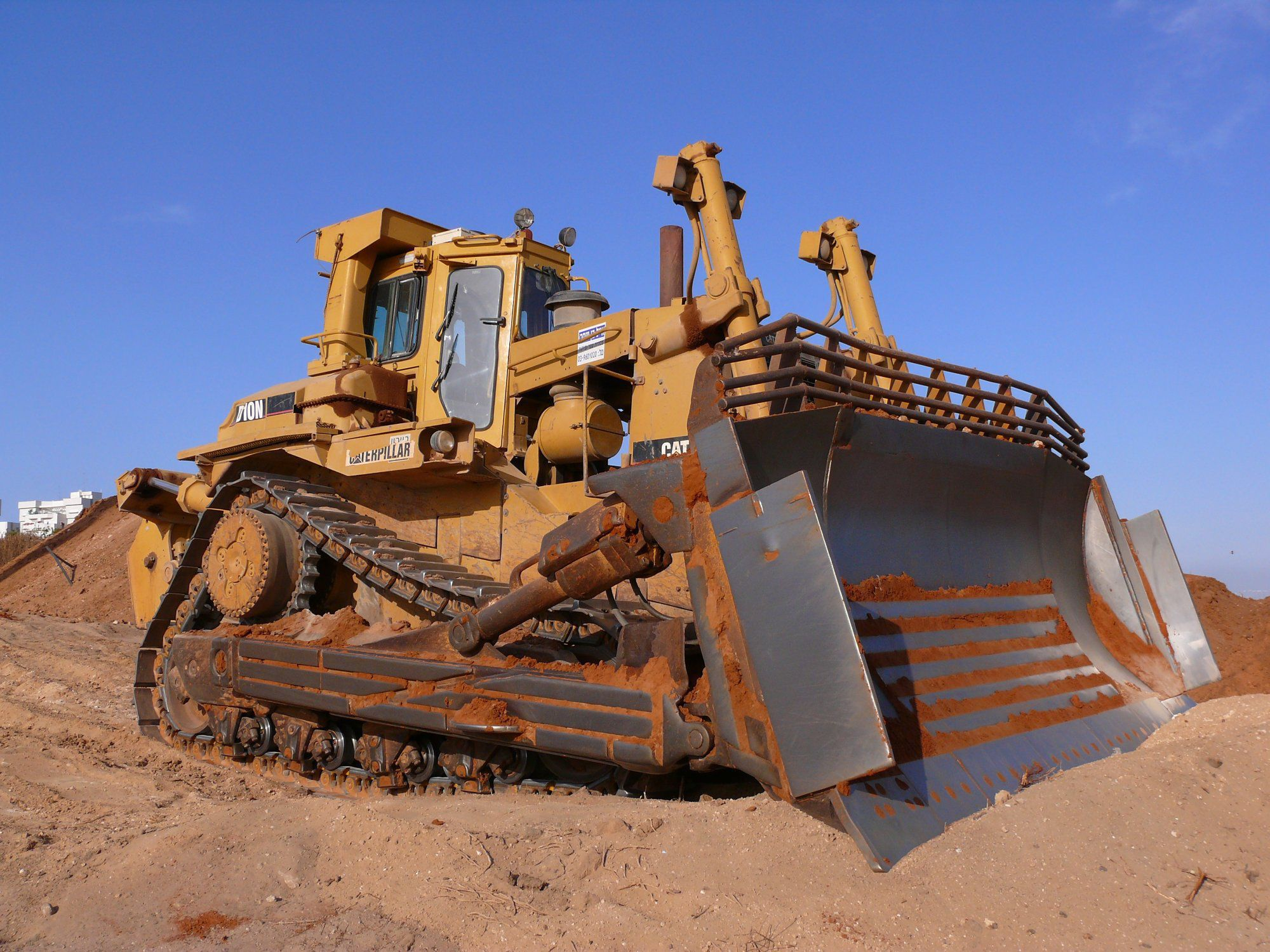Bulldozer Wallpaper