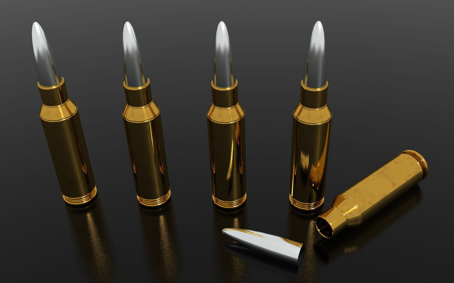 Bullets Wallpaper Pack