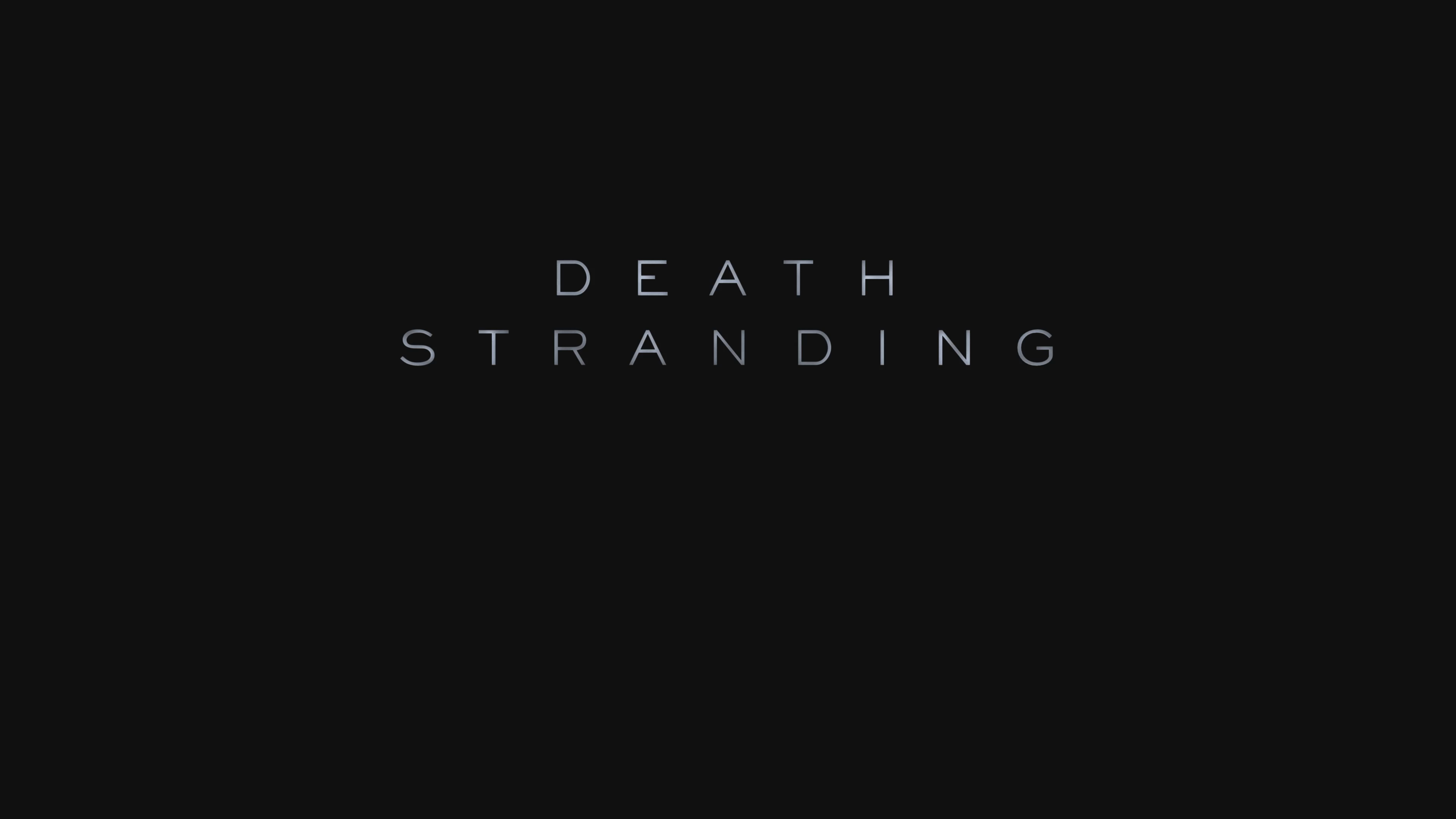 Death Stranding Widescreen