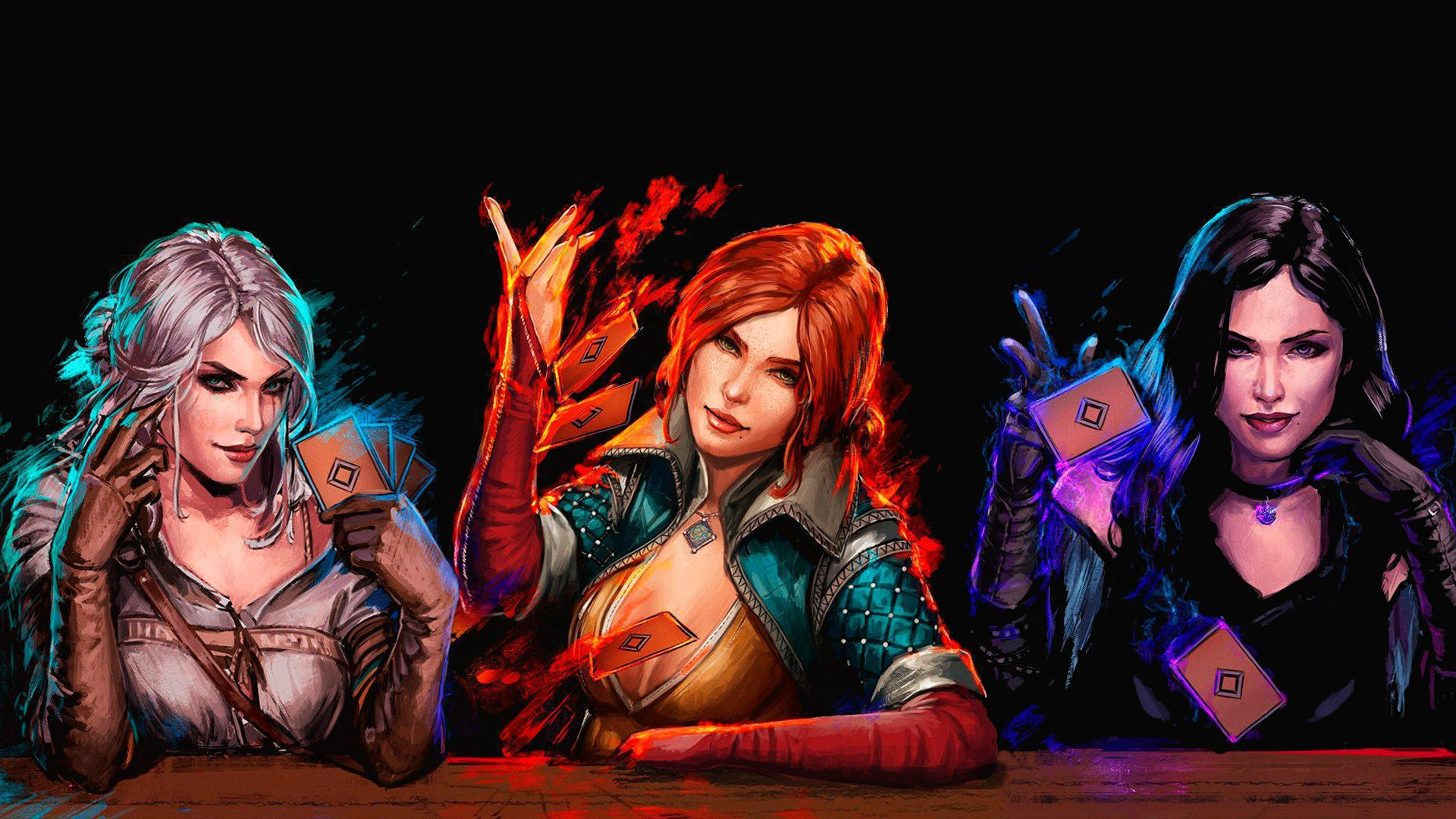 Gwent The Witcher Card Game Computer Wallpaper