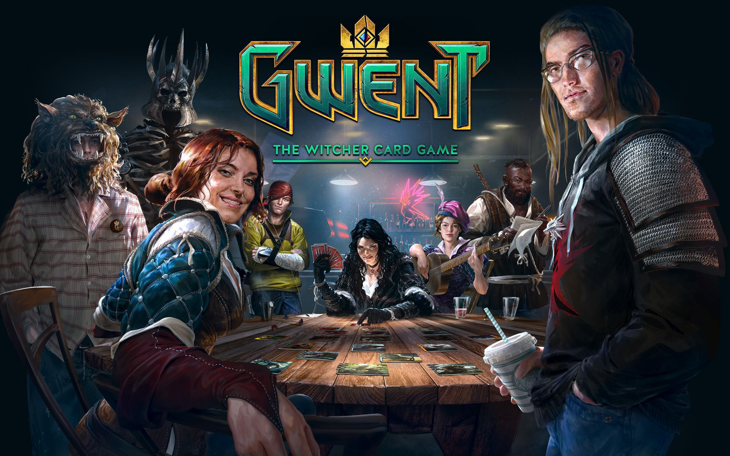 Gwent The Witcher Card Game Wallpaper