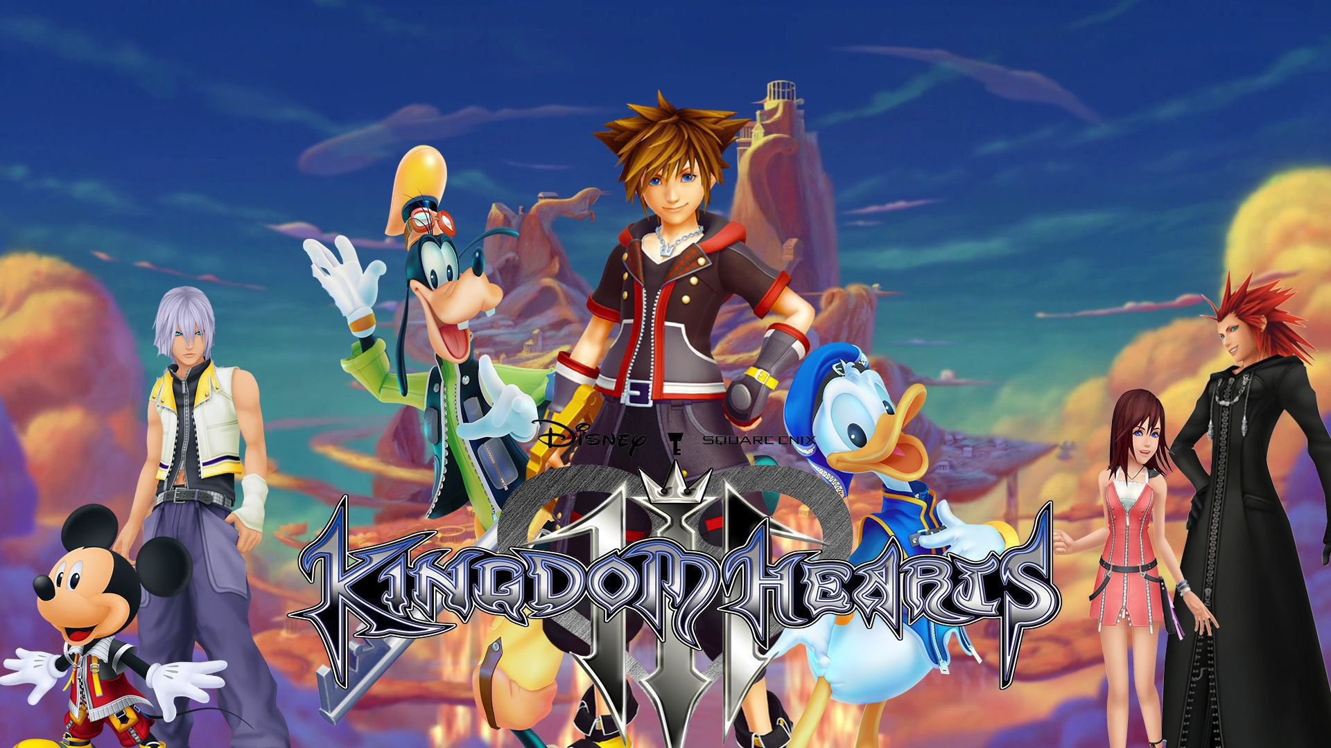 Kingdom Hearts 3 Widescreen