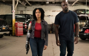 Misty Knights Bionic Arm In Luke Cage Season 2 Cropped