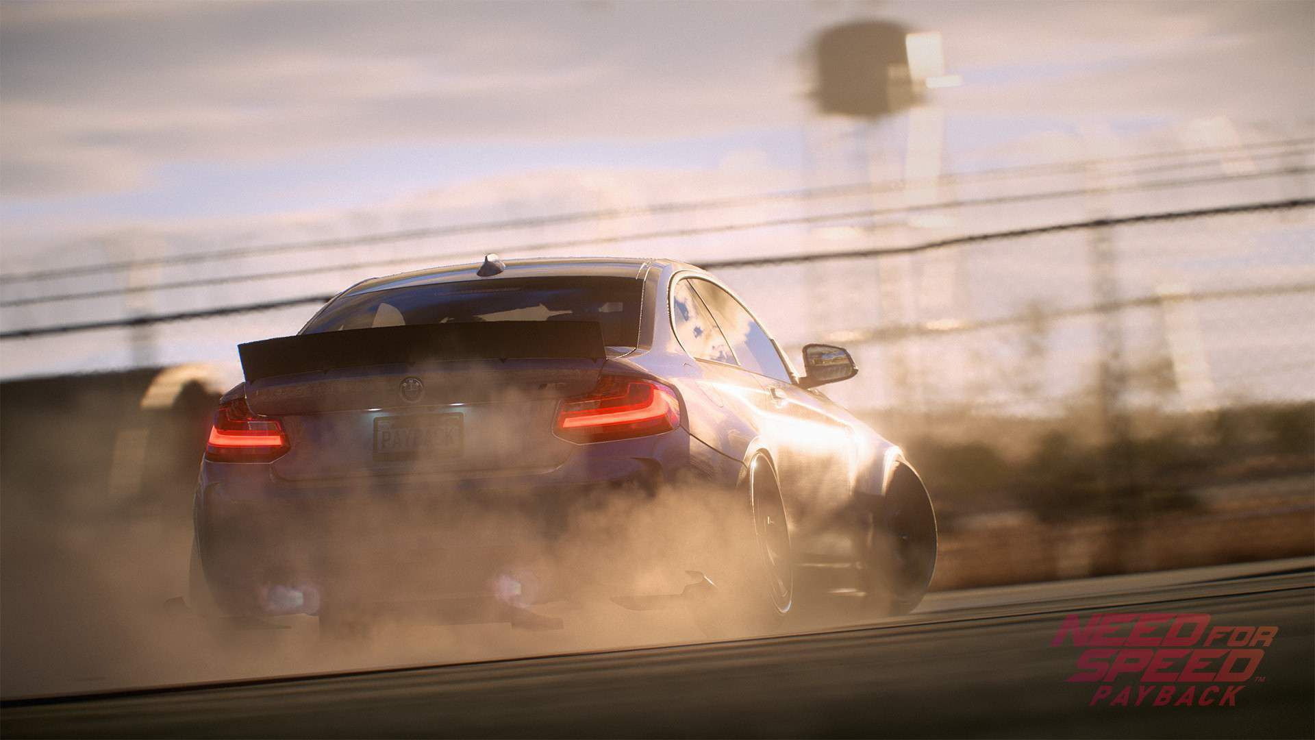 Need For Speed Payback HD Background