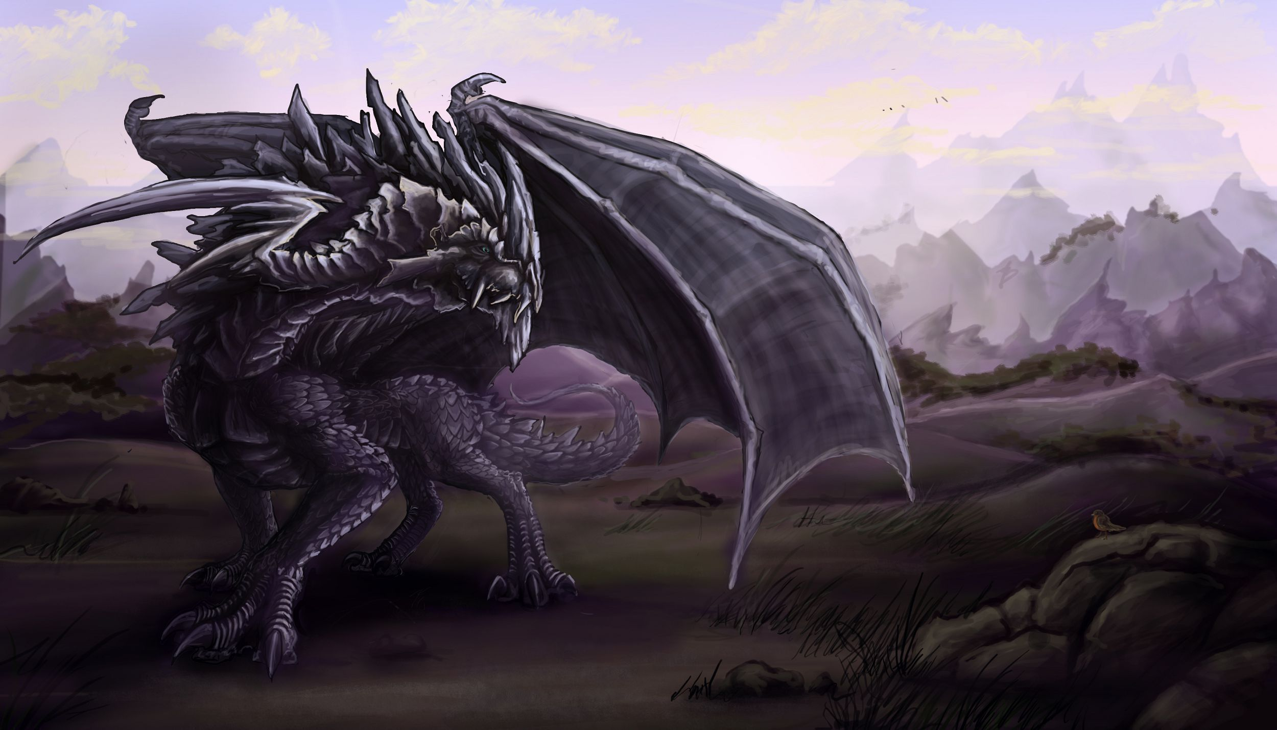 Picture Black Dragon