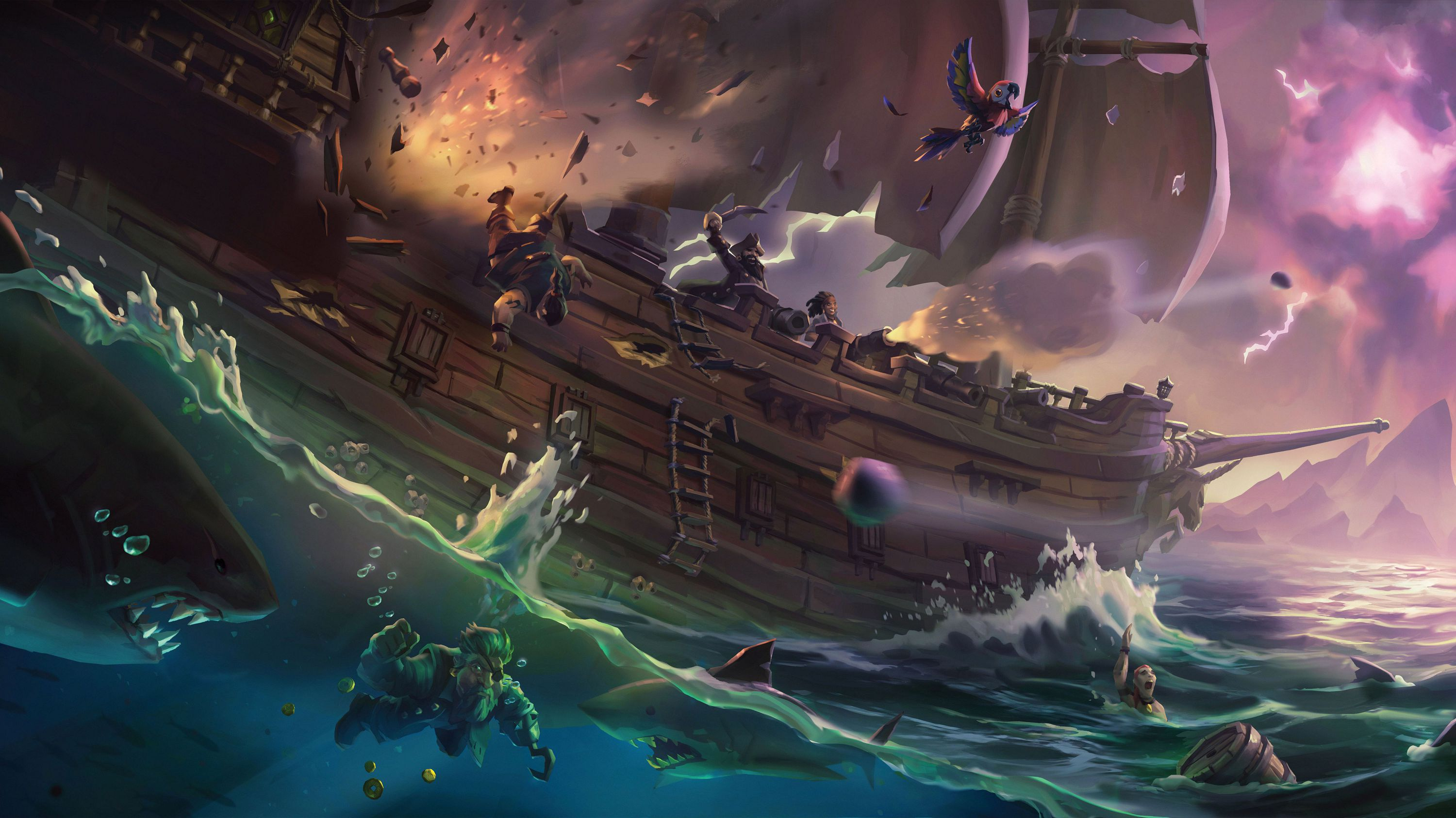 Sea Of Thieves High Definition Wallpapers