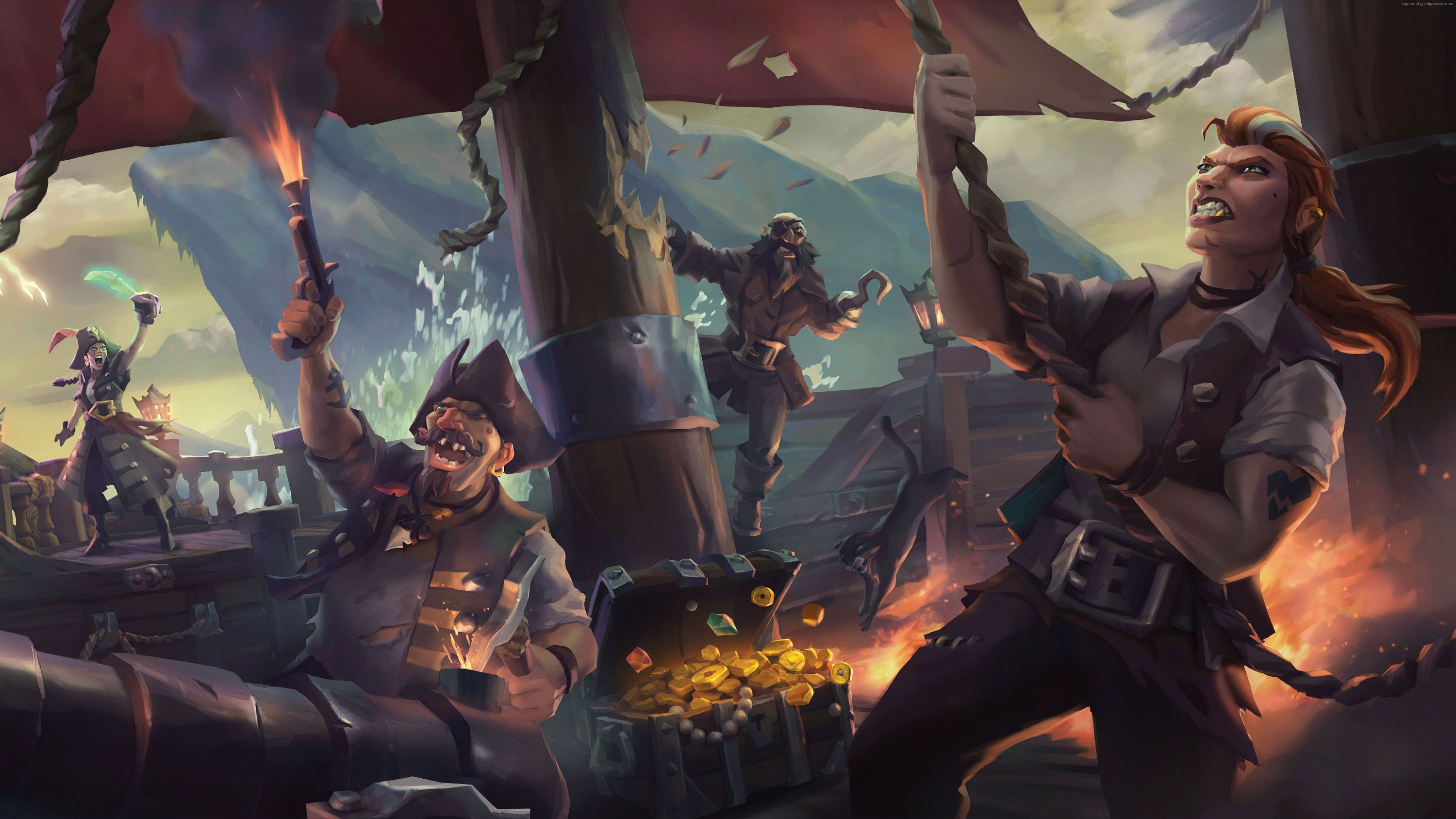 Sea Of Thieves Widescreen