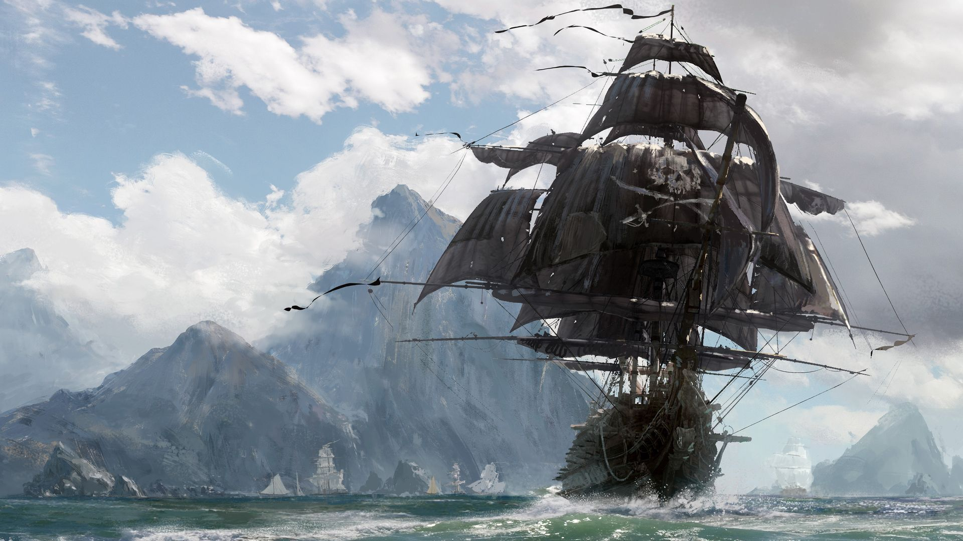 Skull And Bones Wallpapers HD