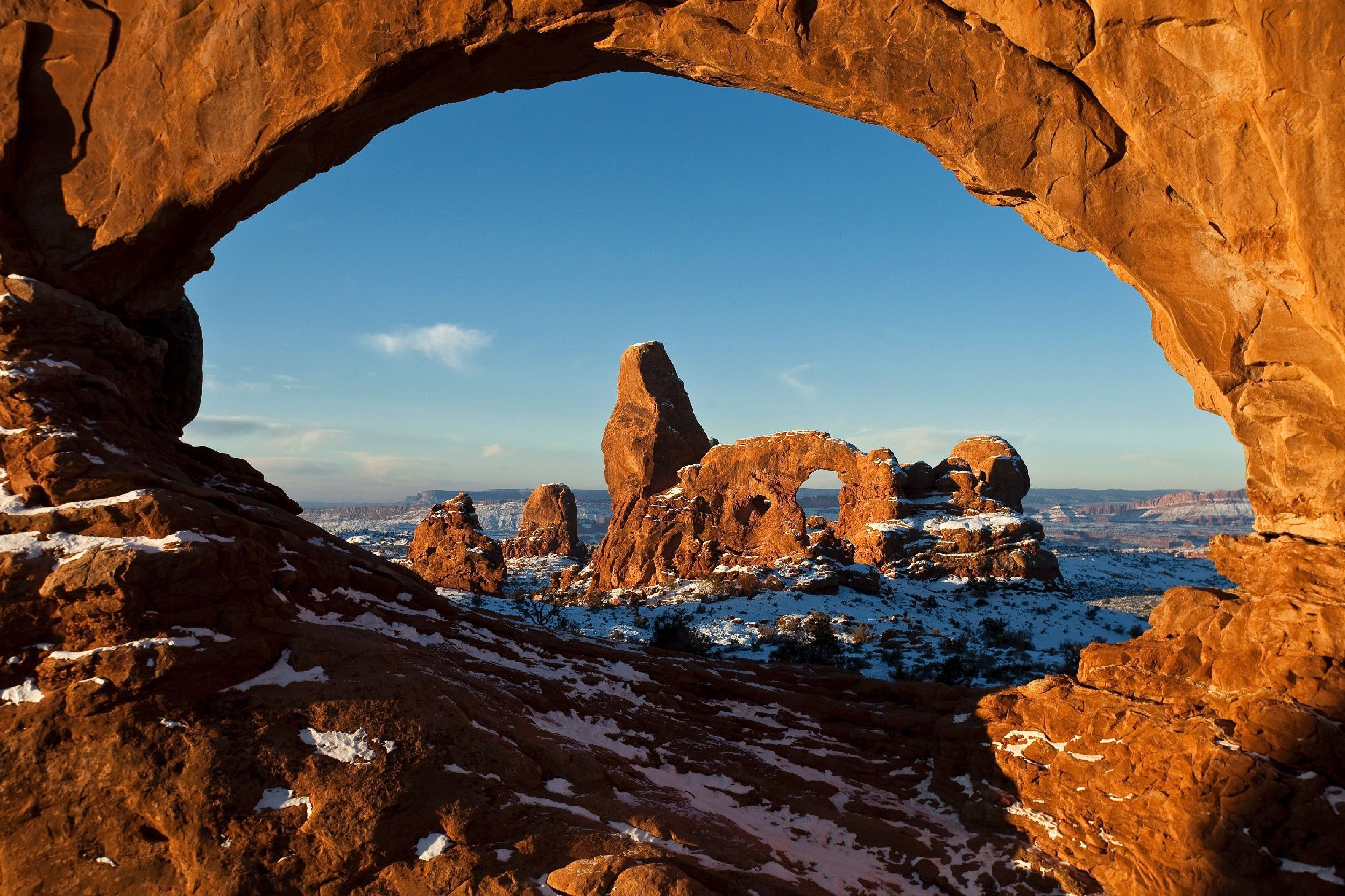 Wide Arches National Park