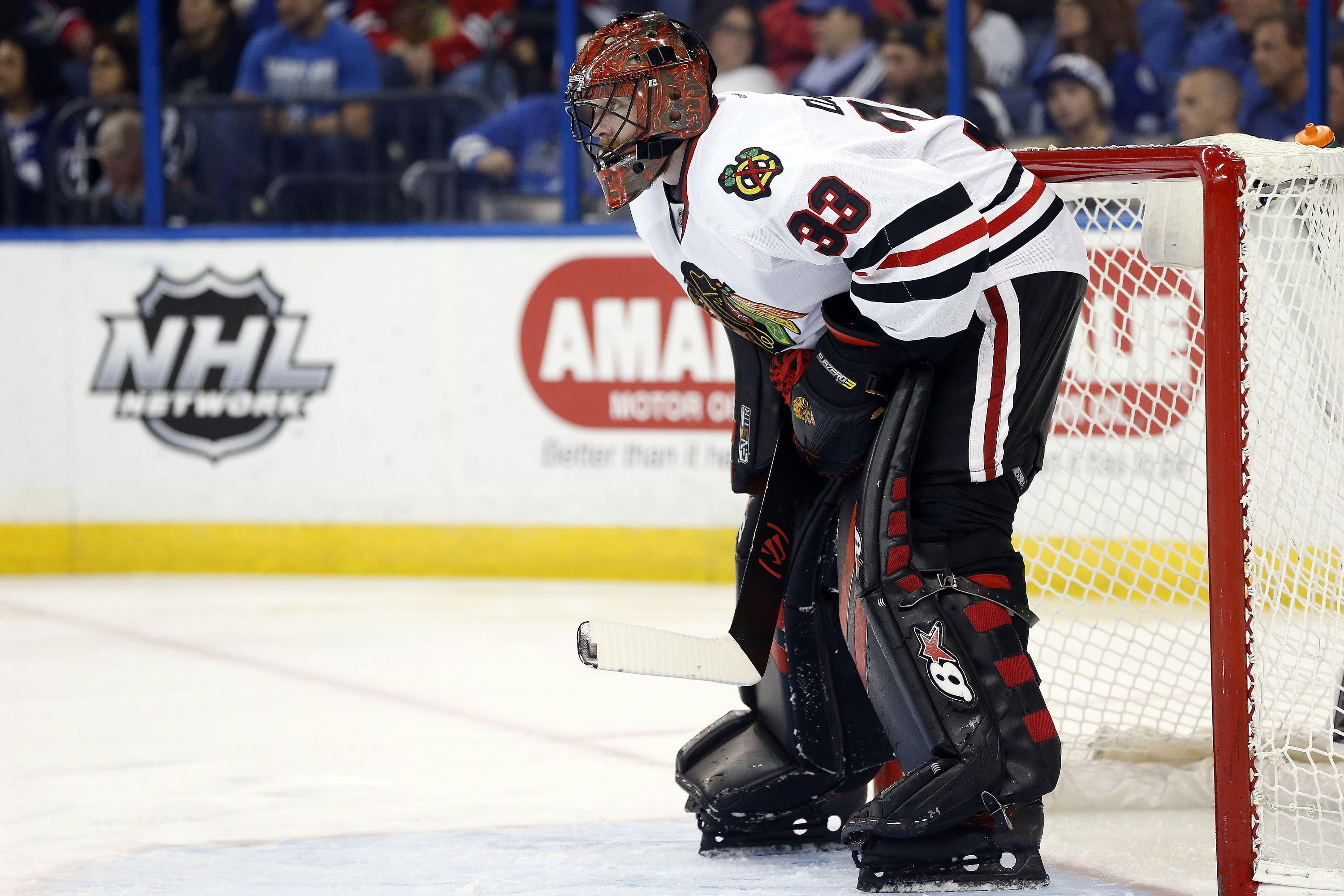 NHL: Chicago Blackhawks At Tampa Bay Lightning