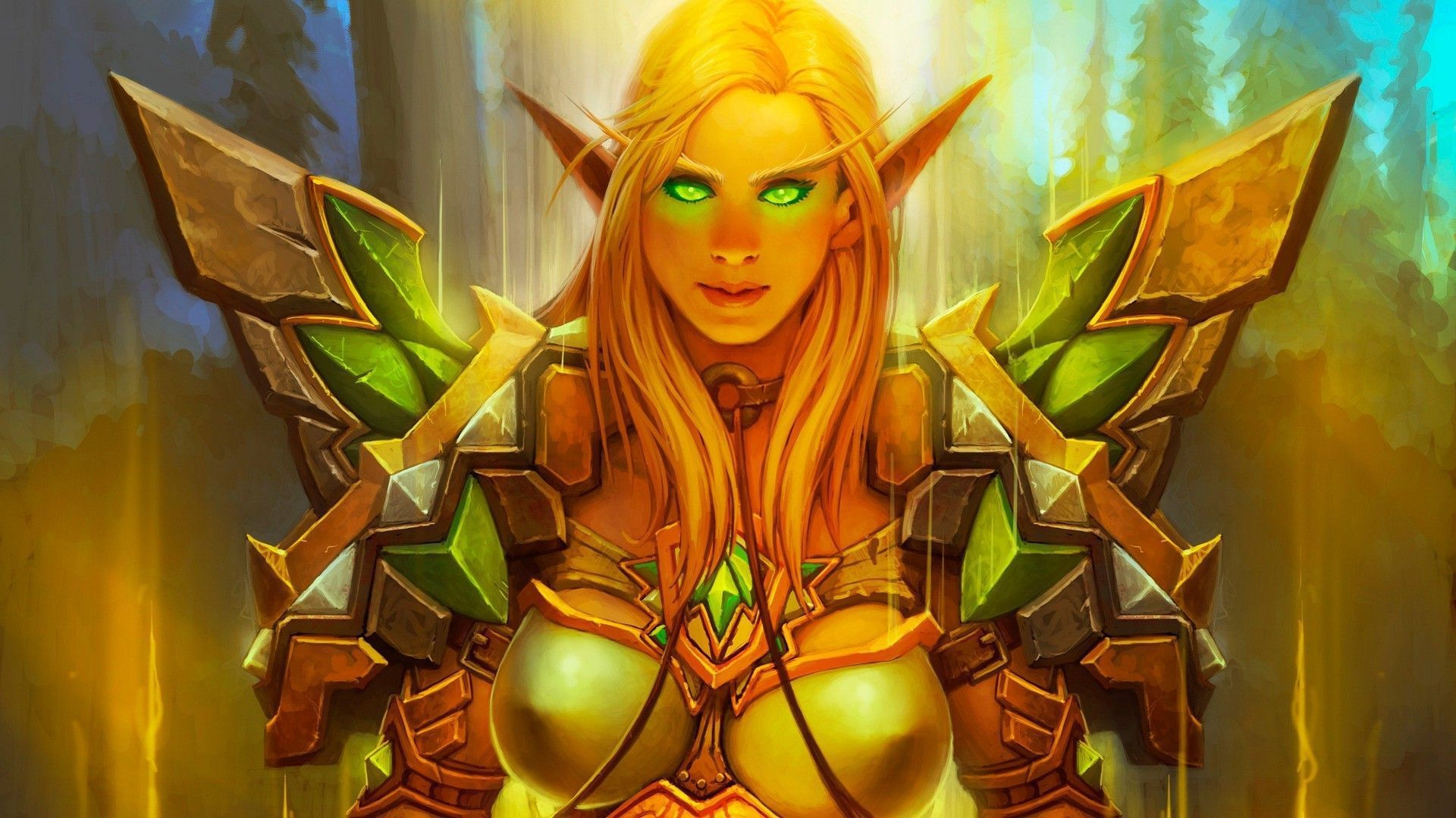 Wide Blood Elf
