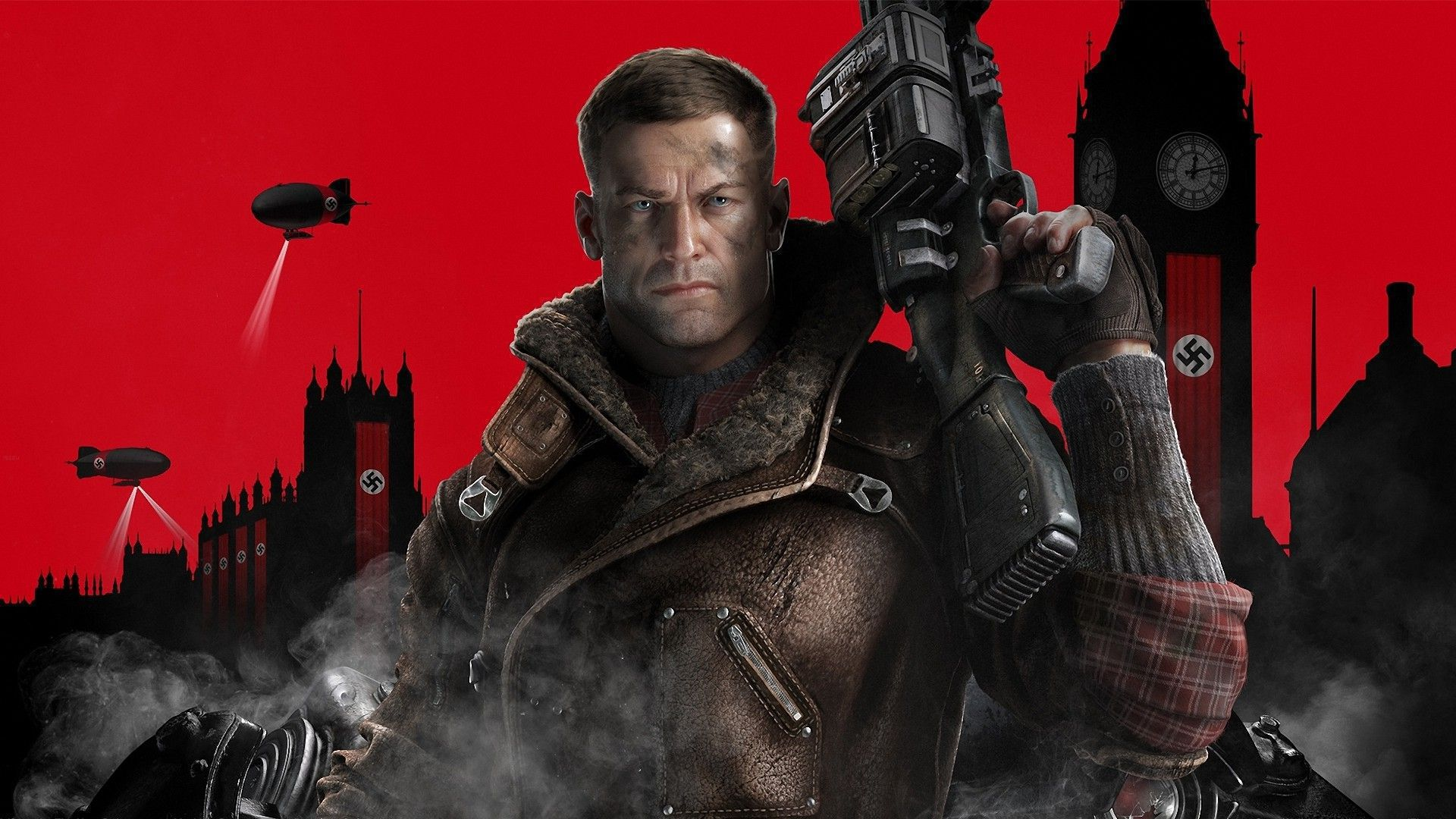 Wolfenstein 2 The New Colossus Computer Wallpaper
