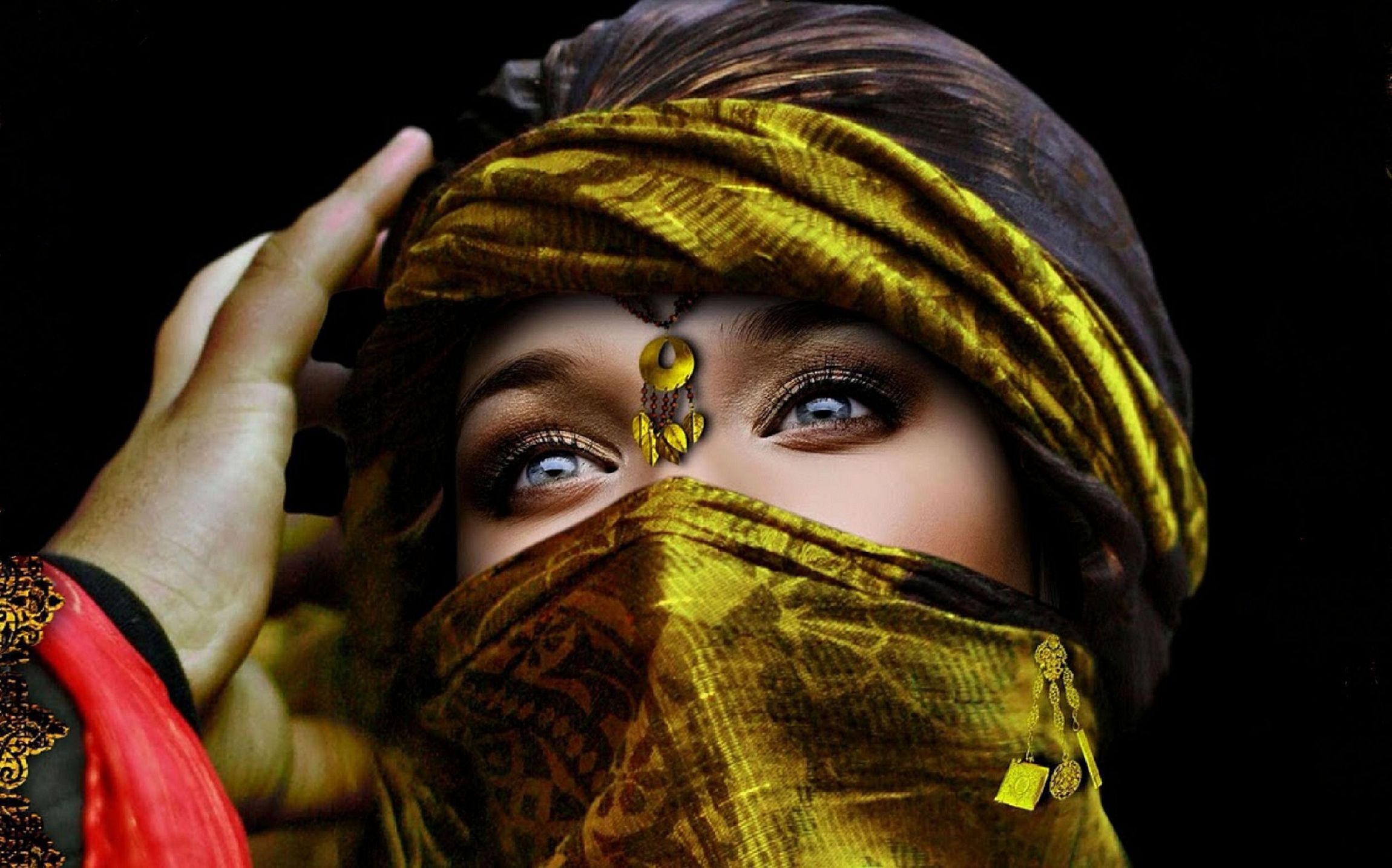 Arab Girl In High Resolution