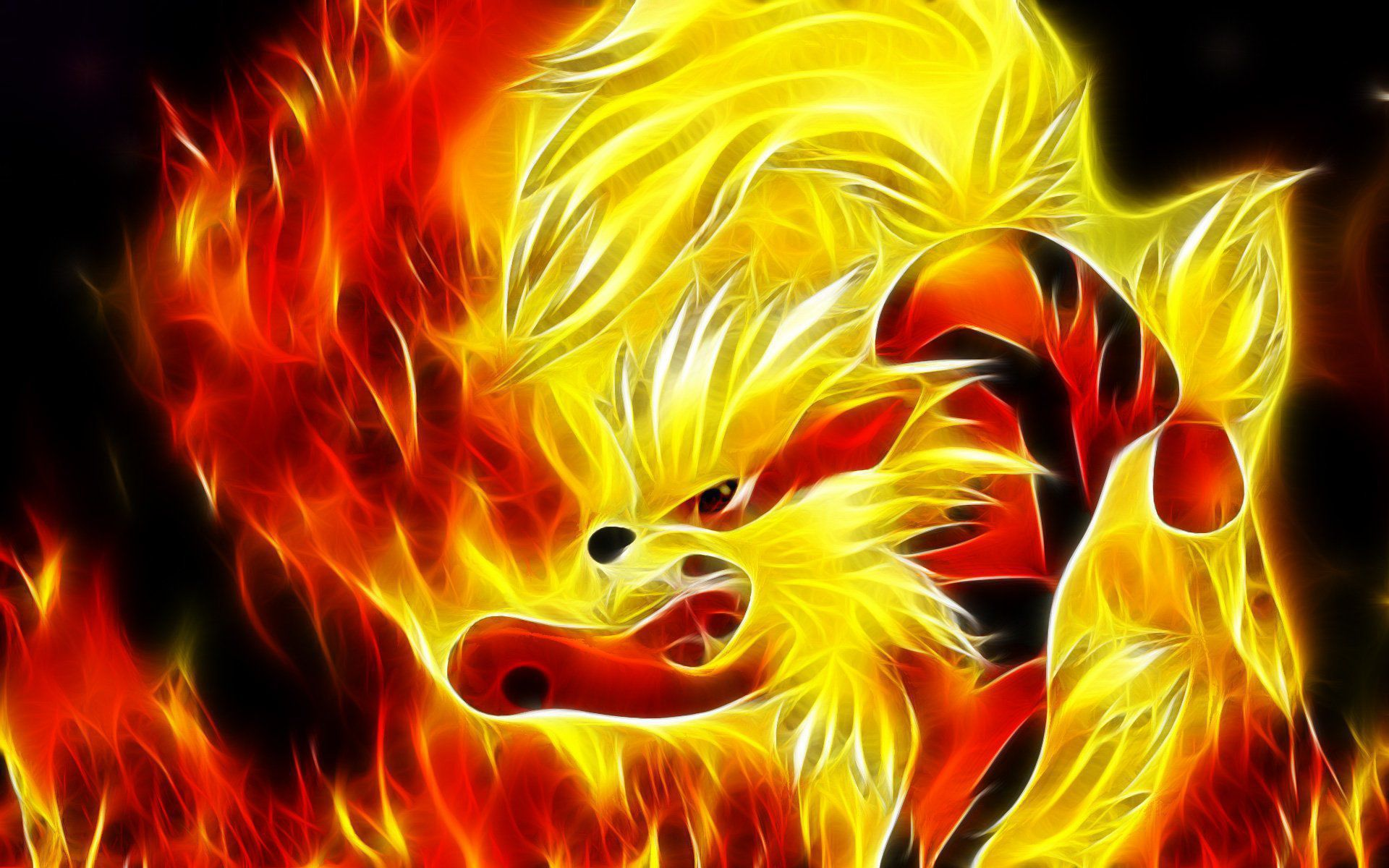 Arcanine Background