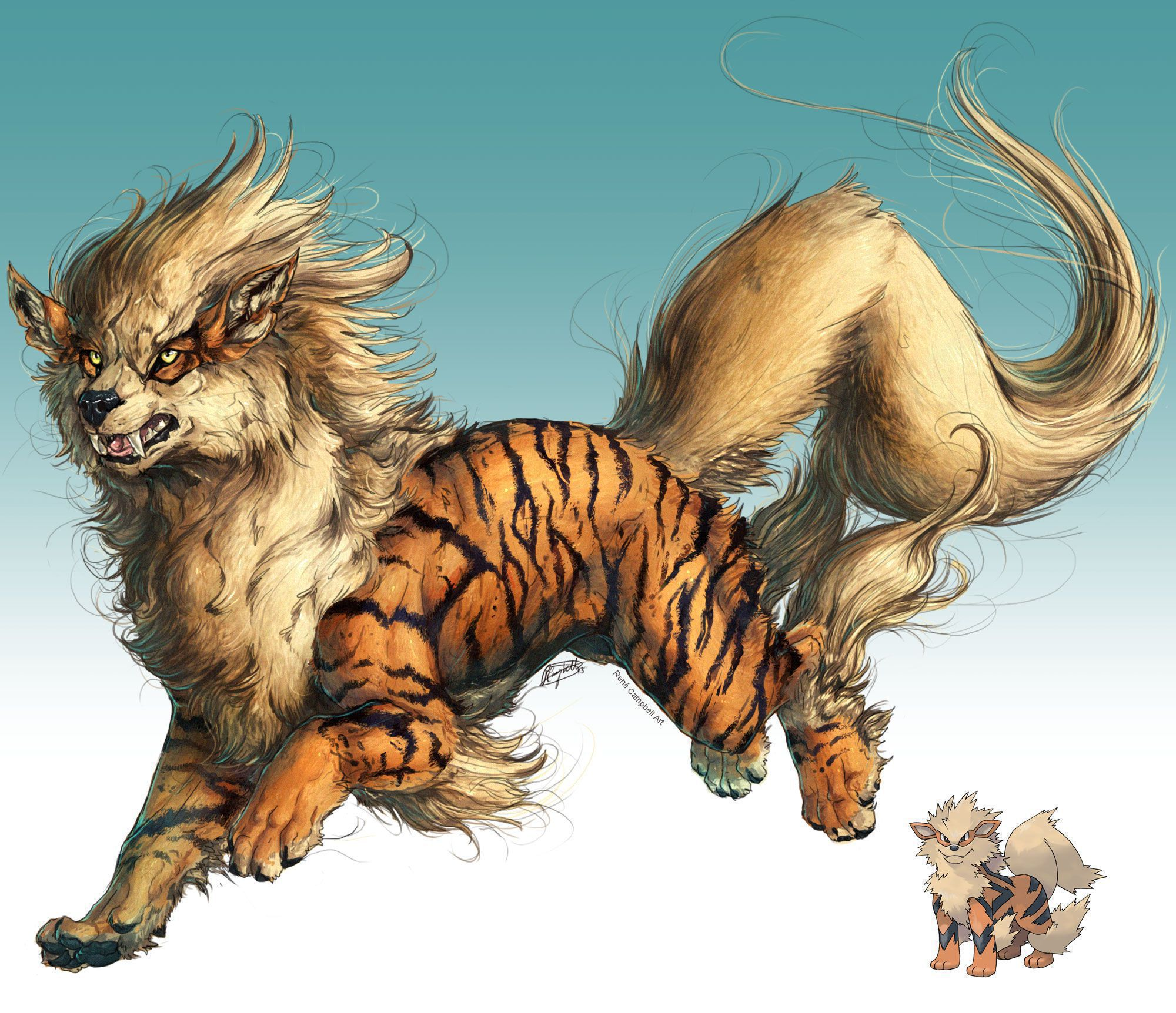 Arcanine HD Wallpaper