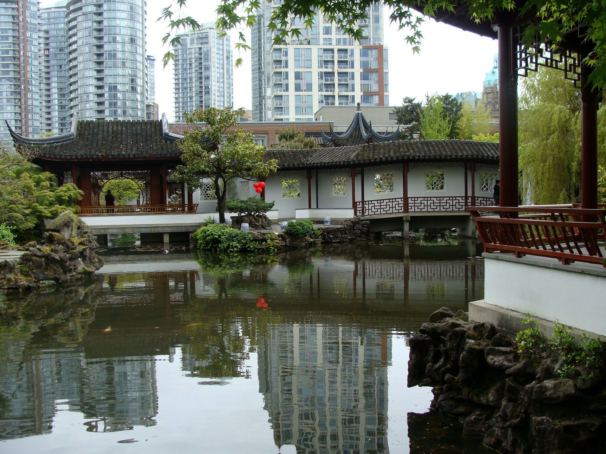 Asian Garden Widescreen