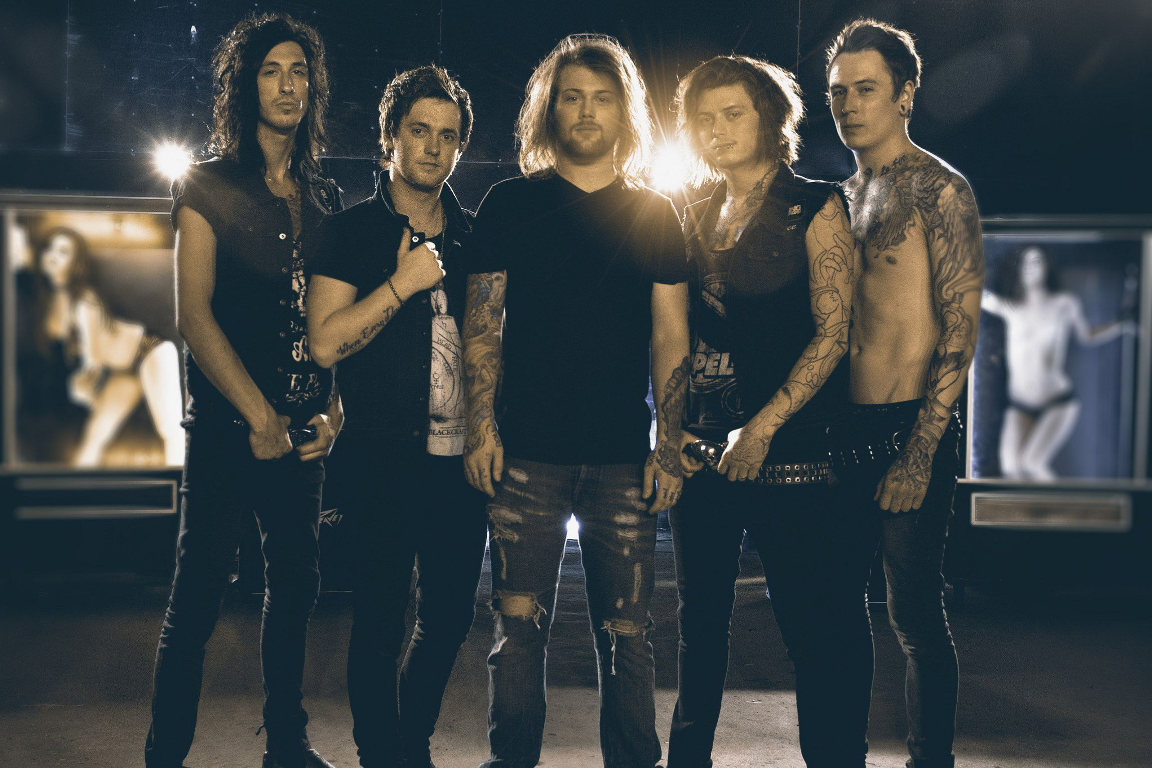 Asking Alexandria Widescreen