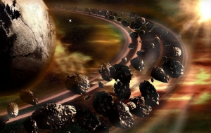 Asteroid Belt Pictures