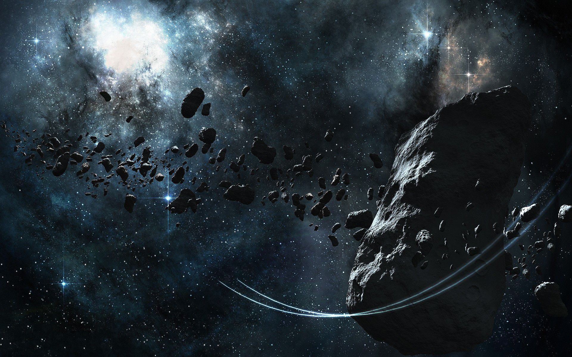 Asteroid Belt Wallpapers