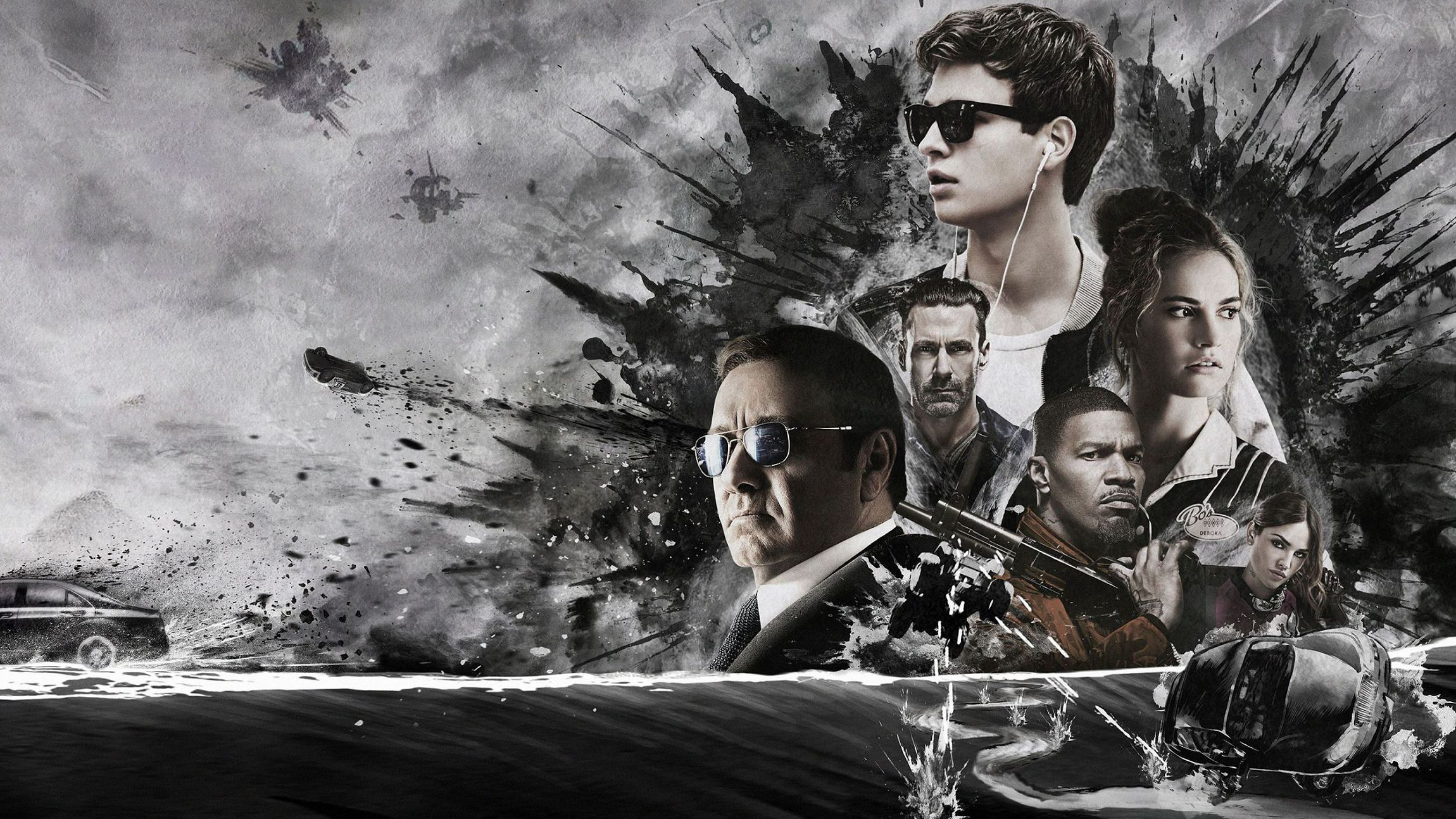 Baby Driver HD Wallpaper