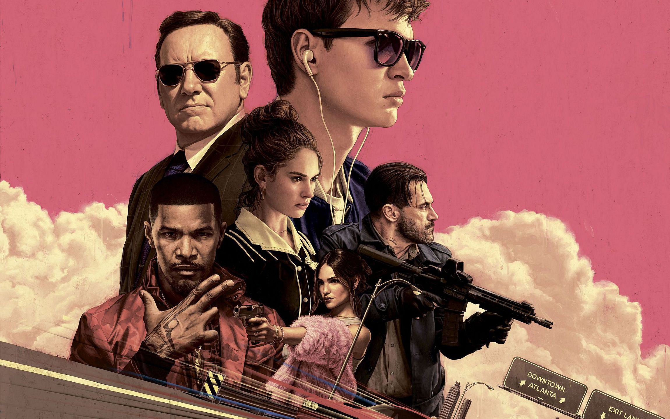 Baby Driver High Quality Wallpapers