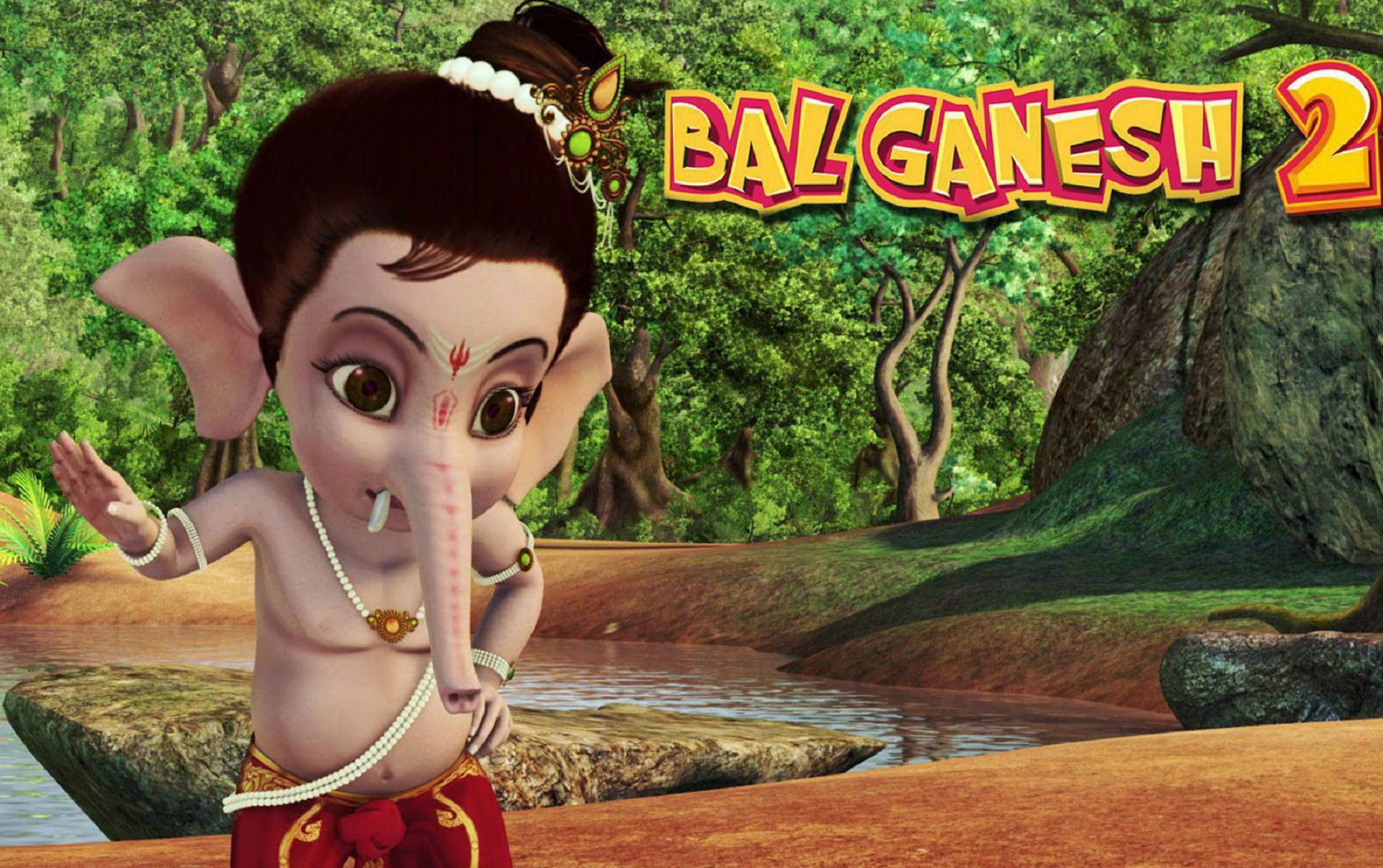 Bal Ganesh High Definition Wallpapers