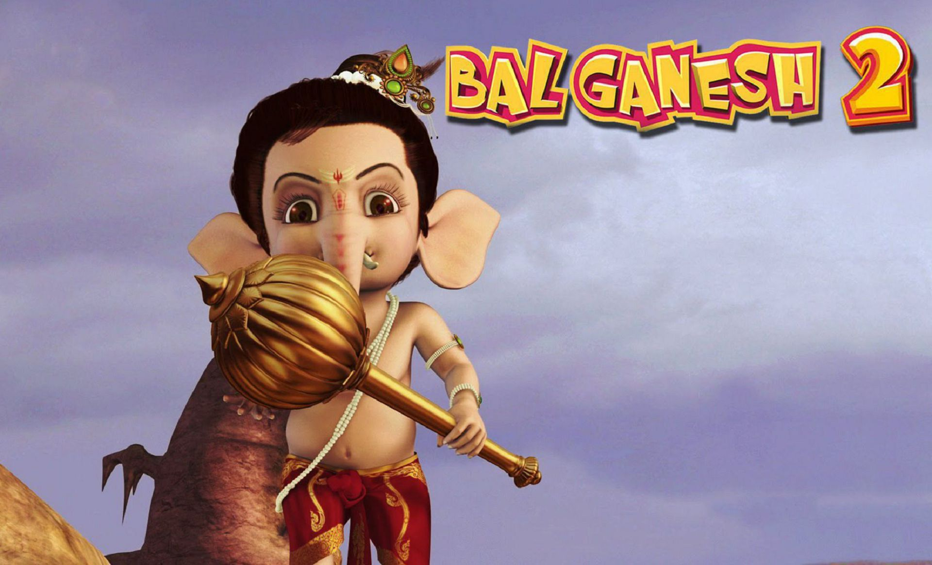 Bal Ganesh High Quality Wallpapers