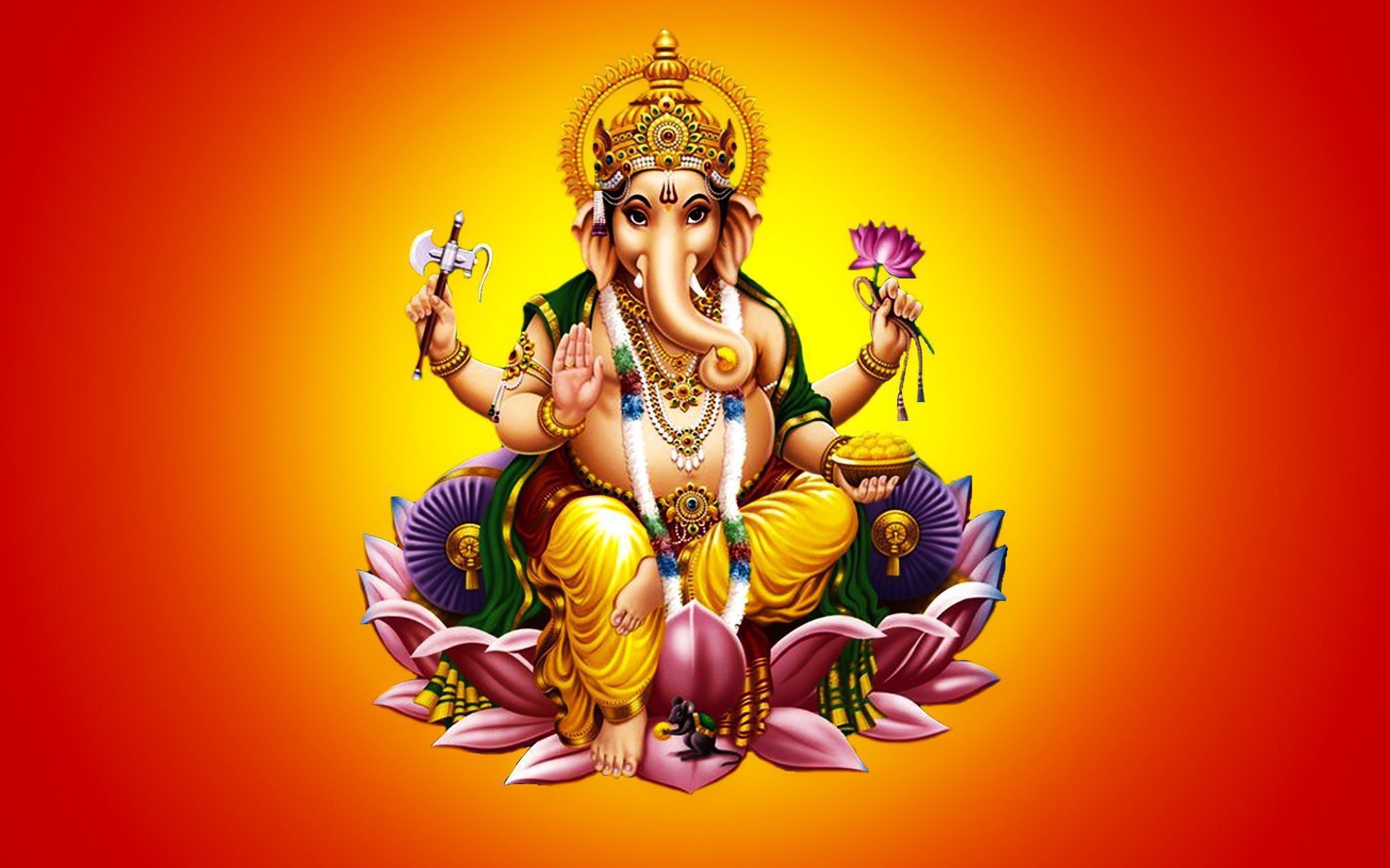 Bal Ganesh Wallpaper