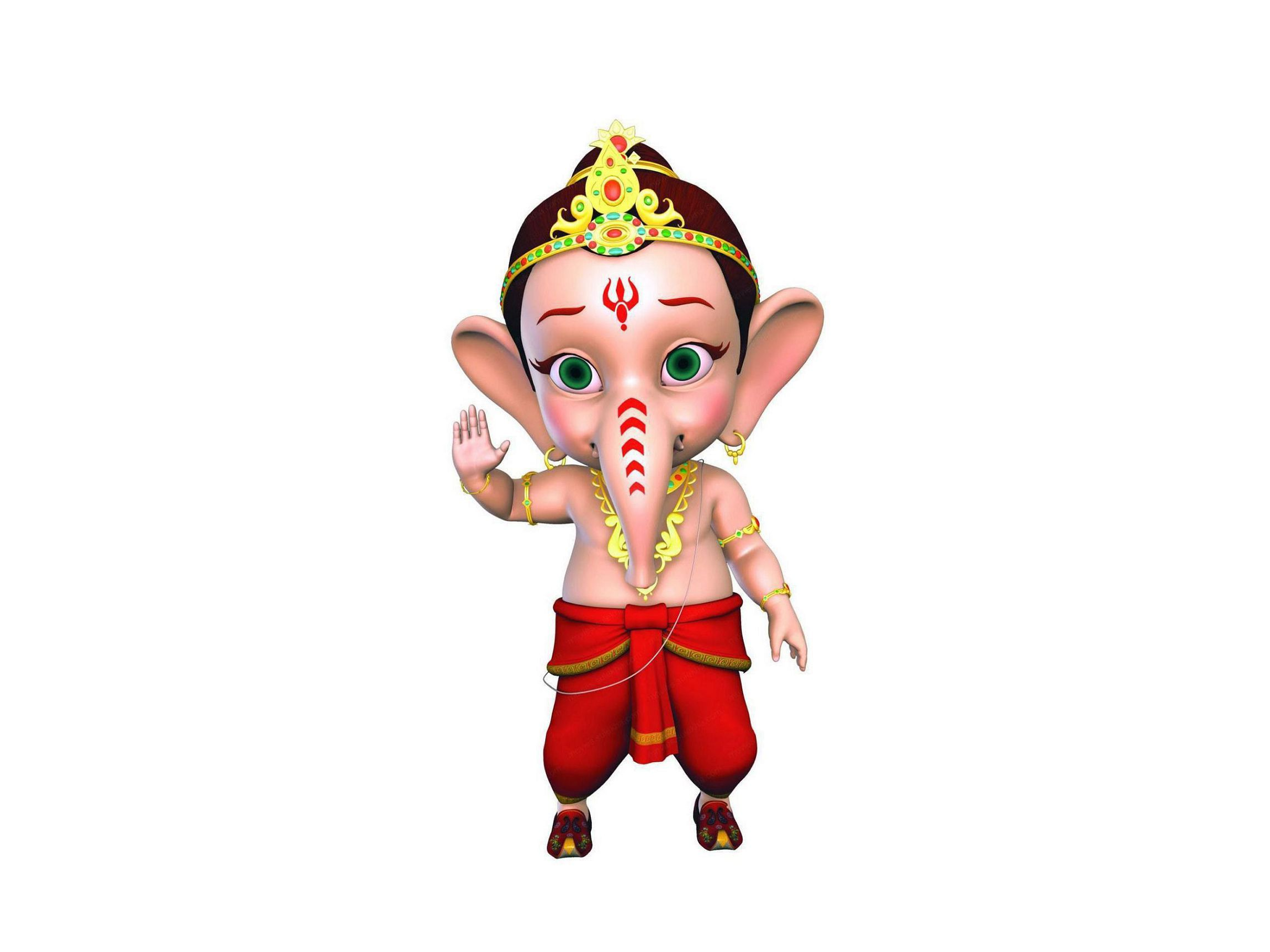Bal Ganesh Wallpaper Pack