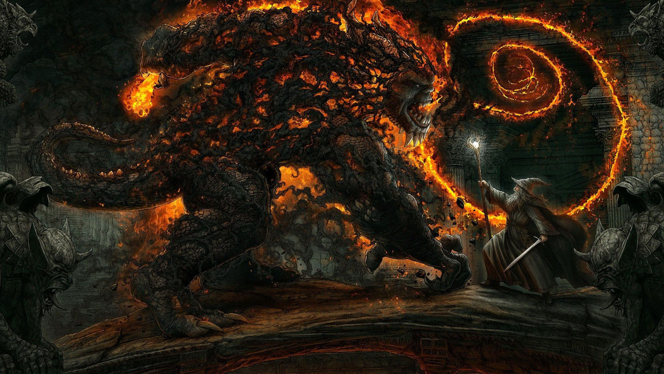 Balrog Background