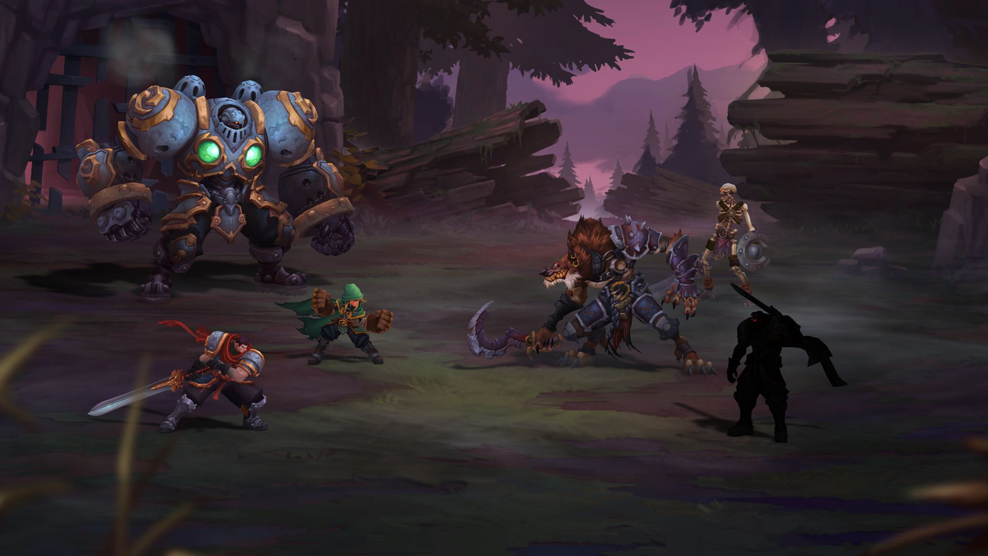 Battle Chasers Nightwar HD Desktop
