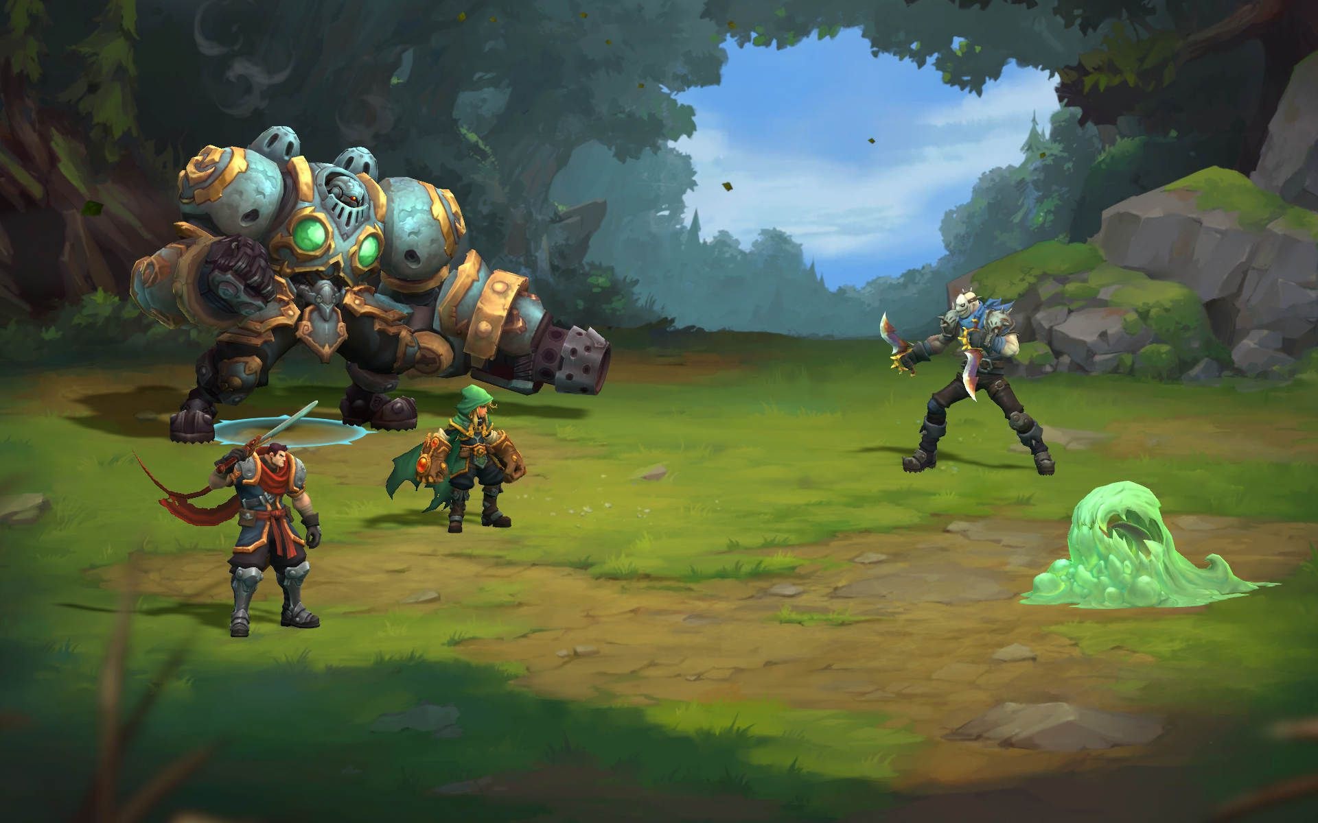 Battle Chasers Nightwar Images