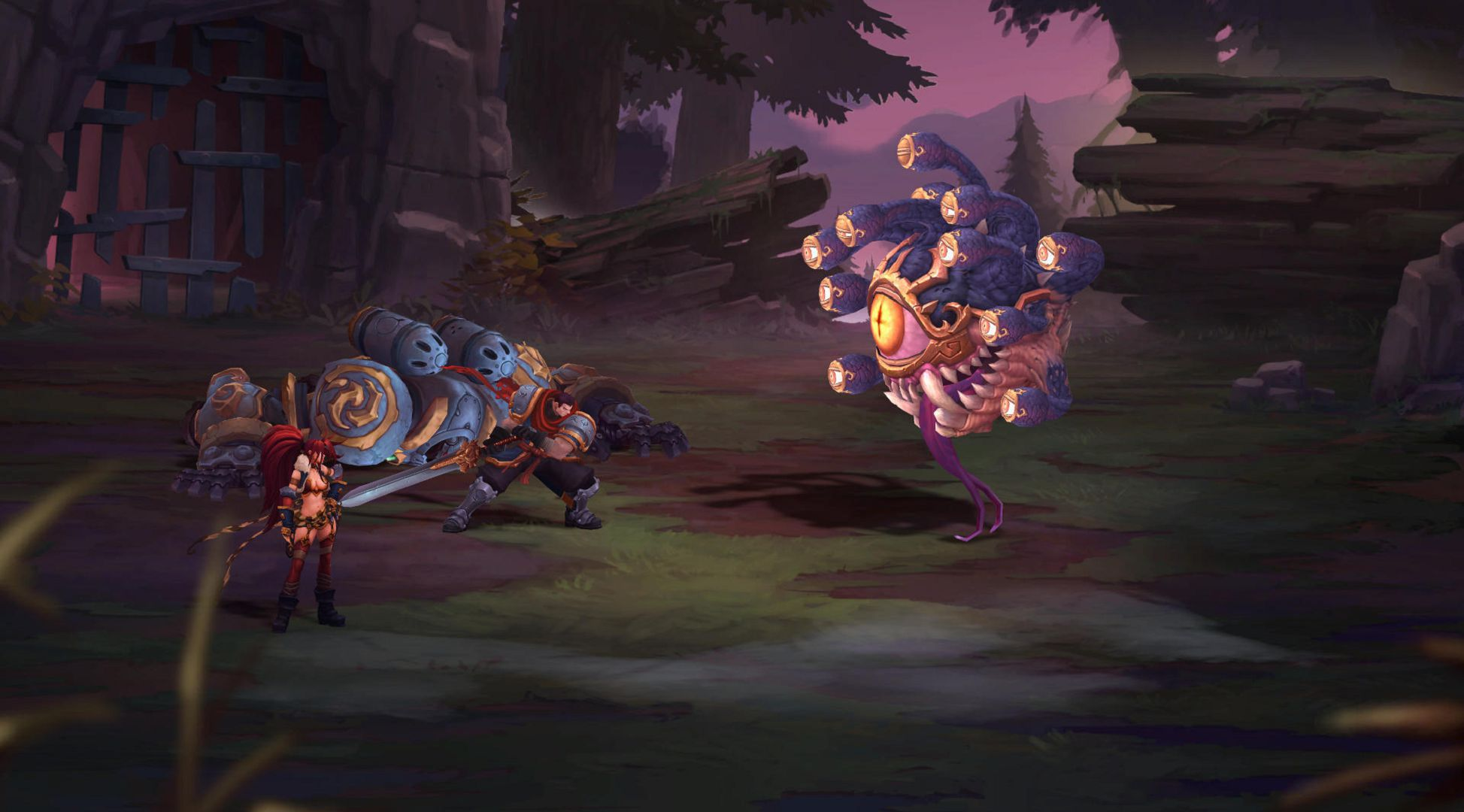 Battle Chasers Nightwar Widescreen