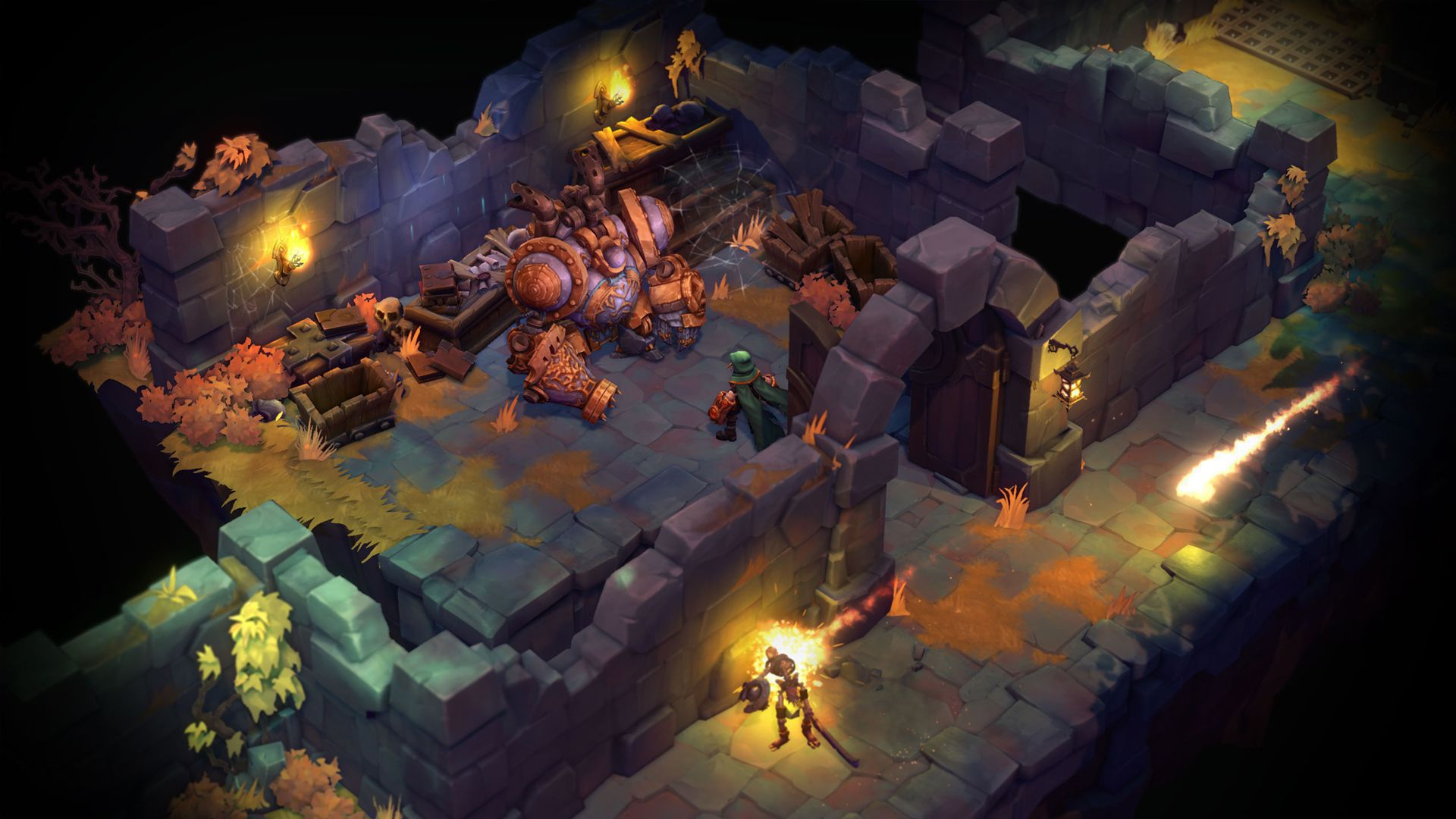 Battle Chasers Nightwar In High Resolution