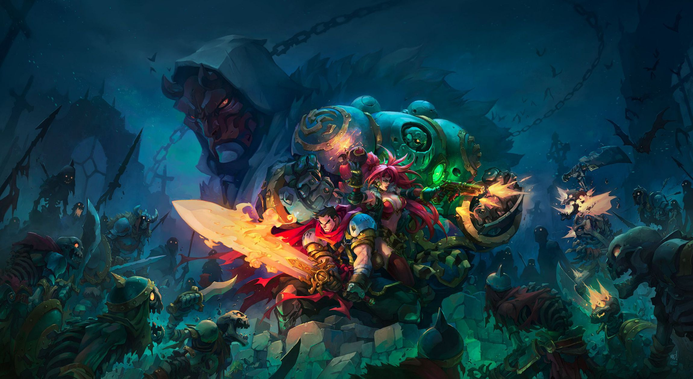 Battle Chasers Nightwar Tumblr