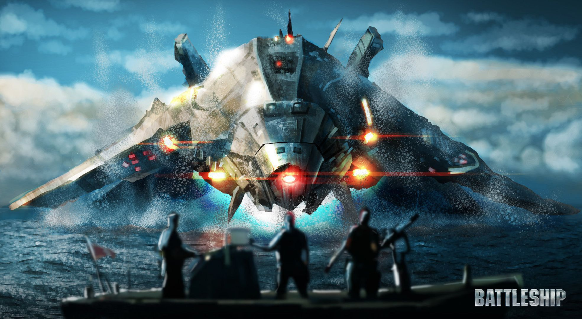 Battleship HD Wallpaper